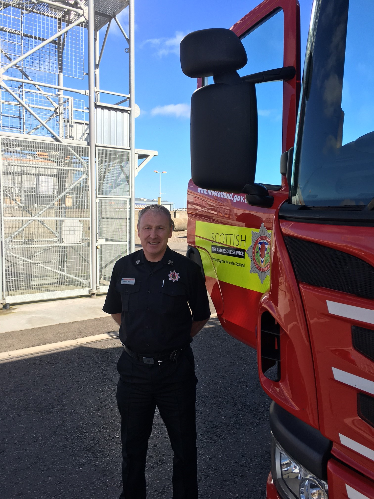 Highland fire chief announces new five year low in deliberate fires