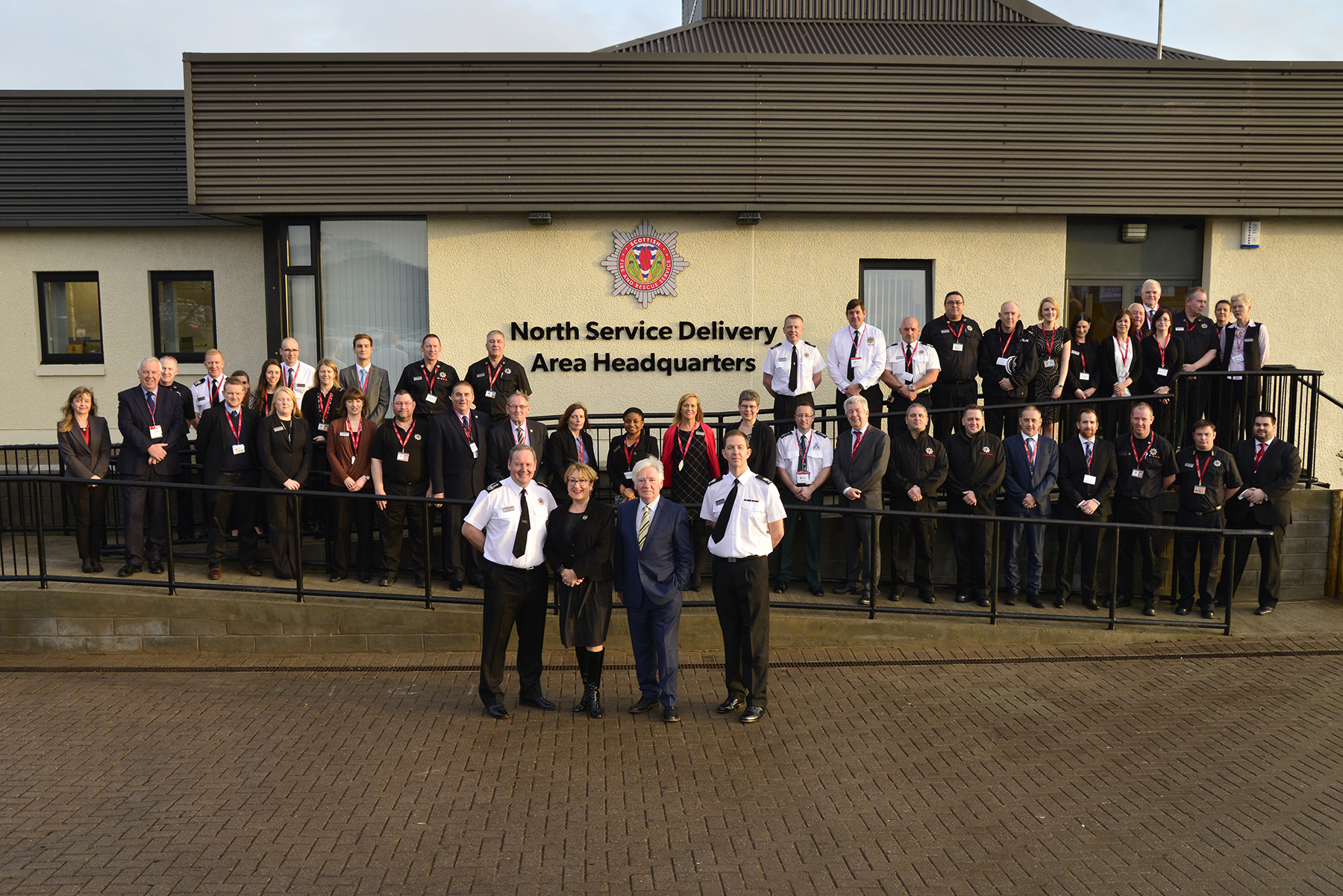The Scottish Fire and Rescue Service unveils £1m investment with opening of north headquarters at Dyce