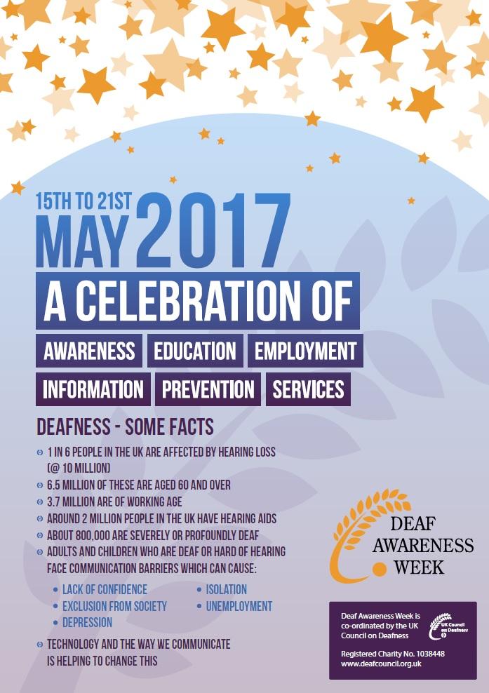 SFRS support Deaf Awareness Week 2017