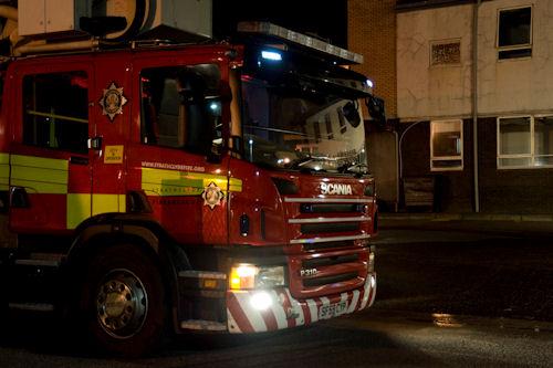 Fire near Linlithgow petrol station