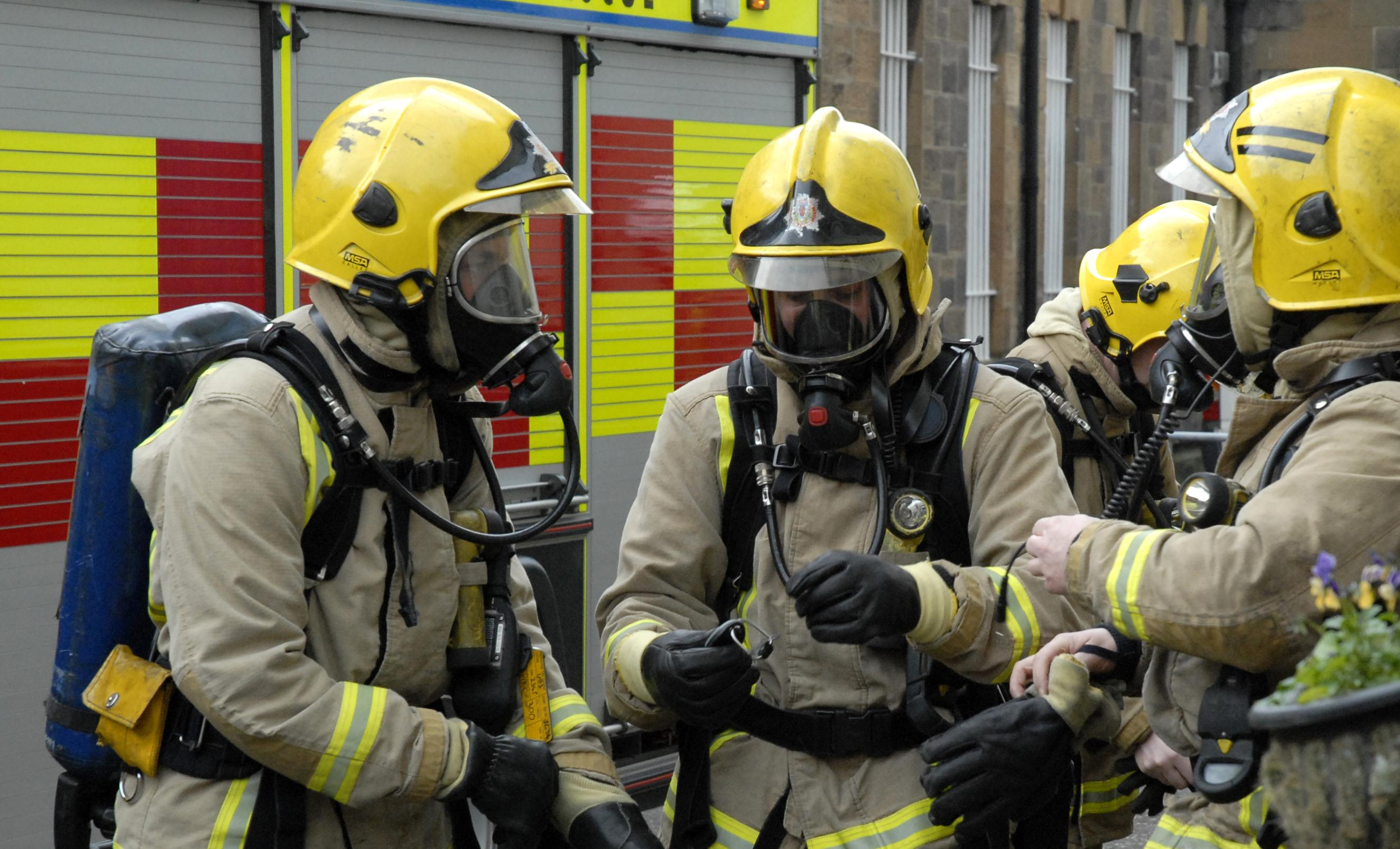 Crews at scene of house fire in Cumbernauld, North Lanarkshire