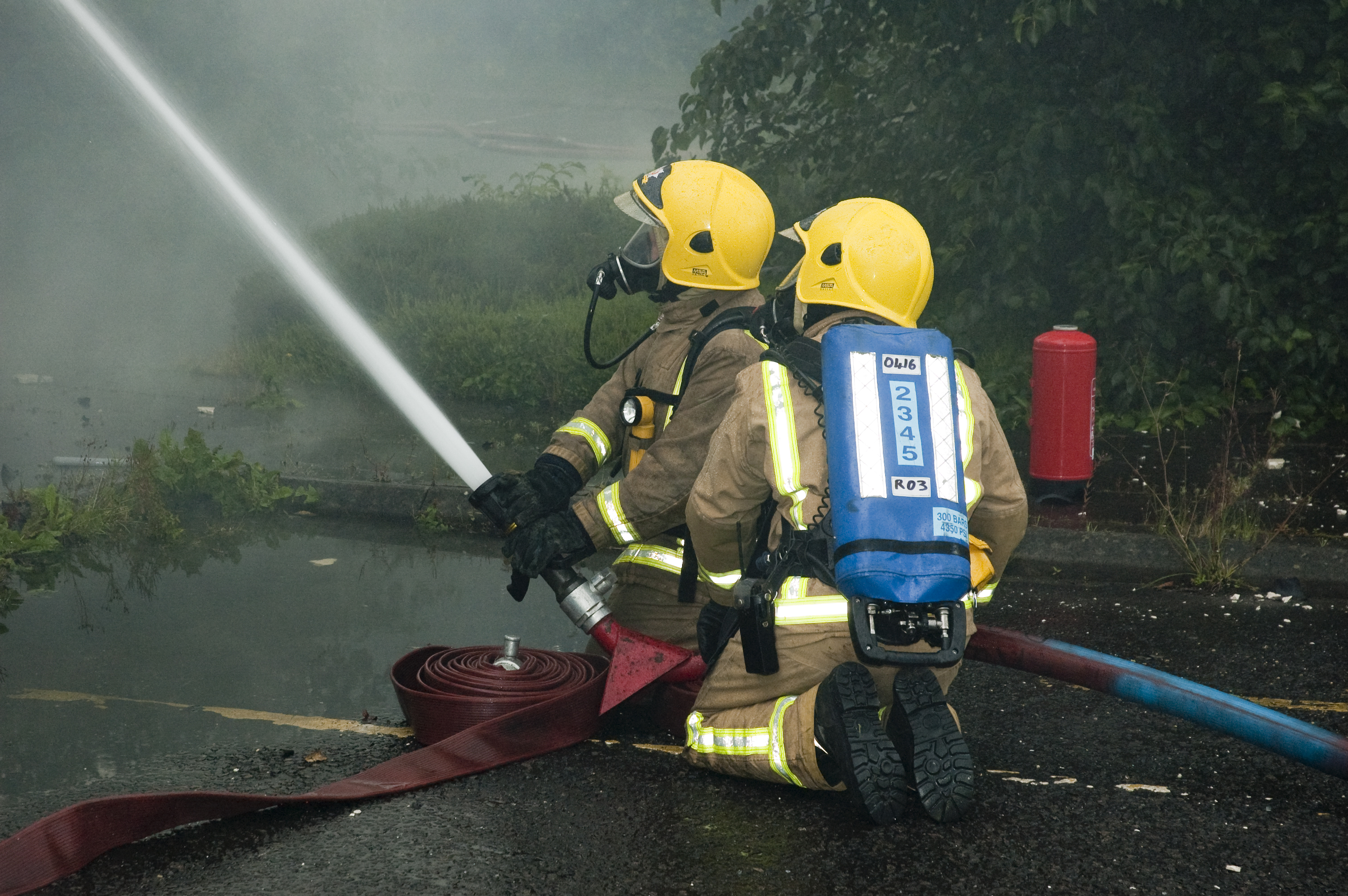 Firefighters tackle East Ayrshire blaze