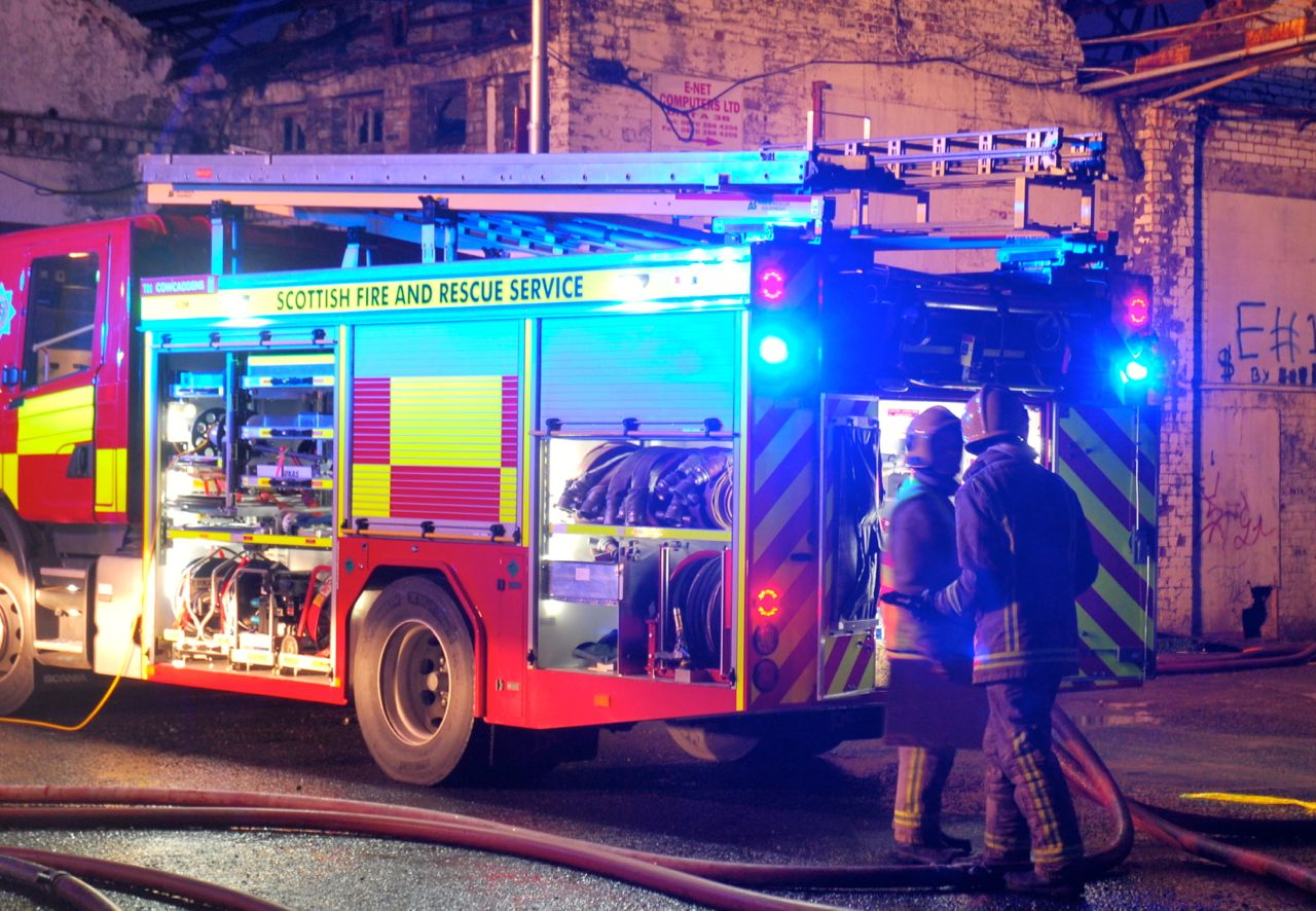 Fire at house in Lerwick, Shetland