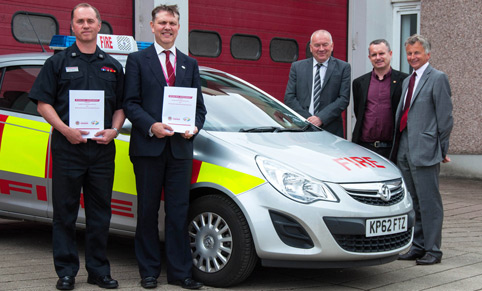 Pact to cut fire deaths and injuries in Renfrewshire