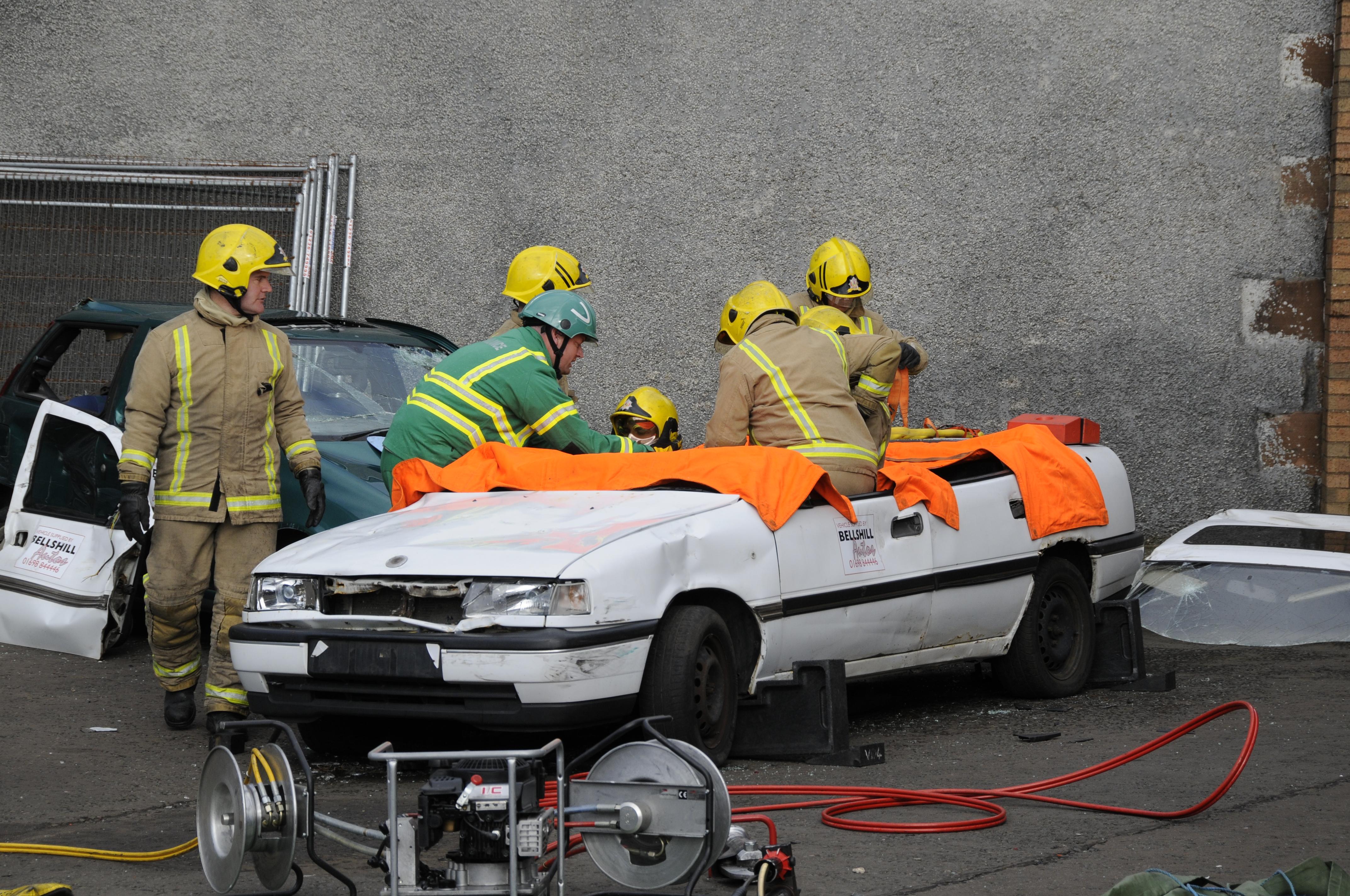 Clydebank crash injures four