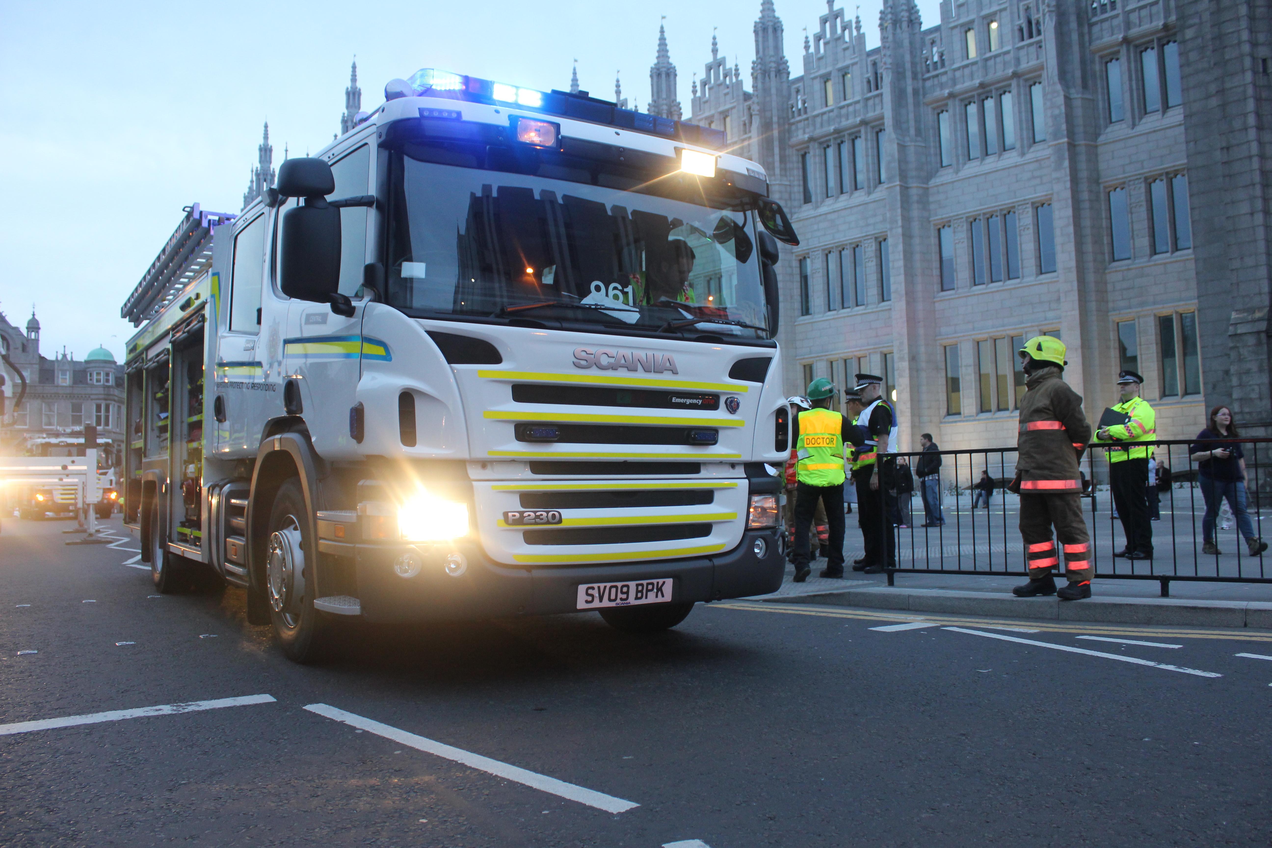 Woman dies in Aberdeenshire fire