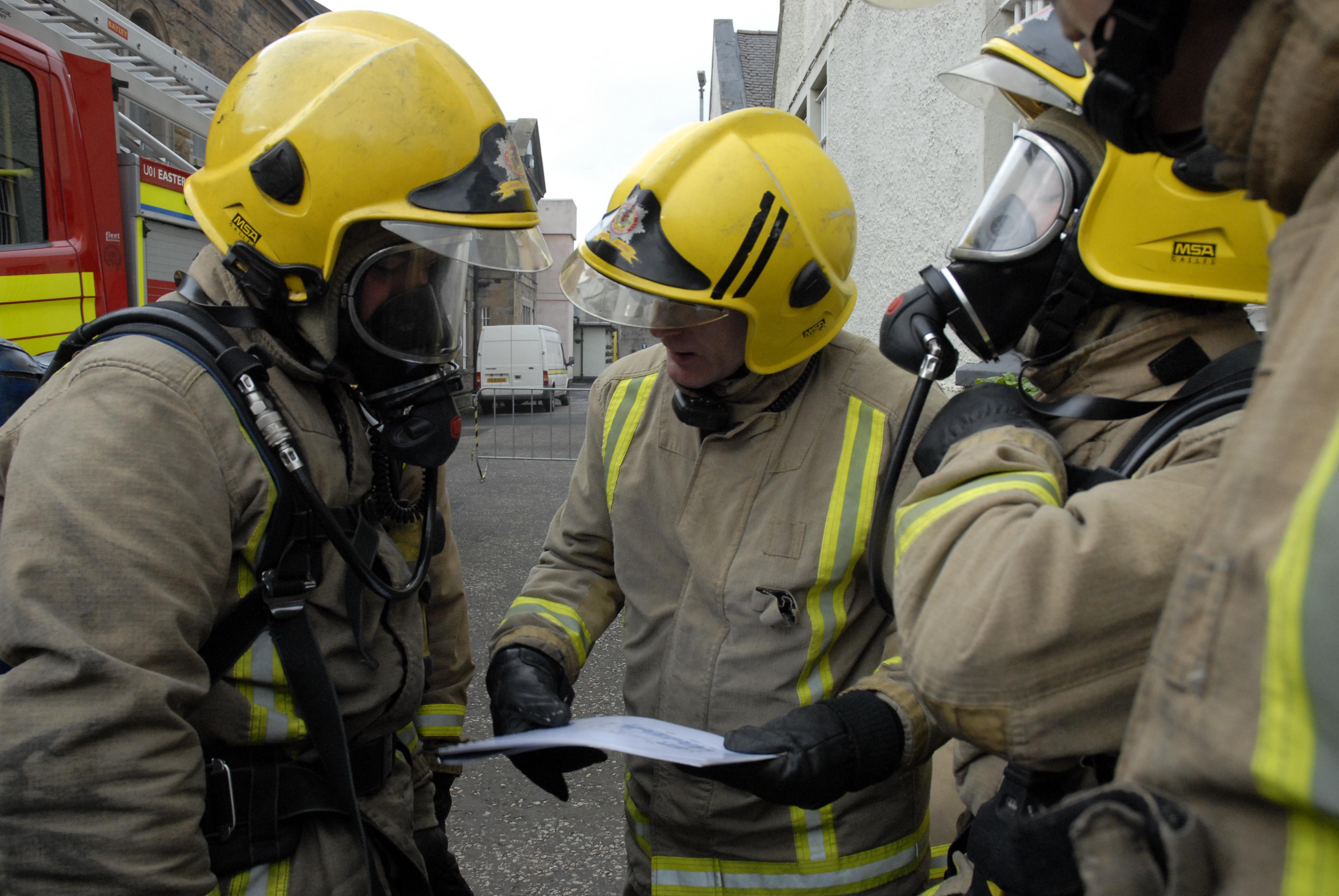 Man suffers smoke inhalation in North Lanarkshire fire