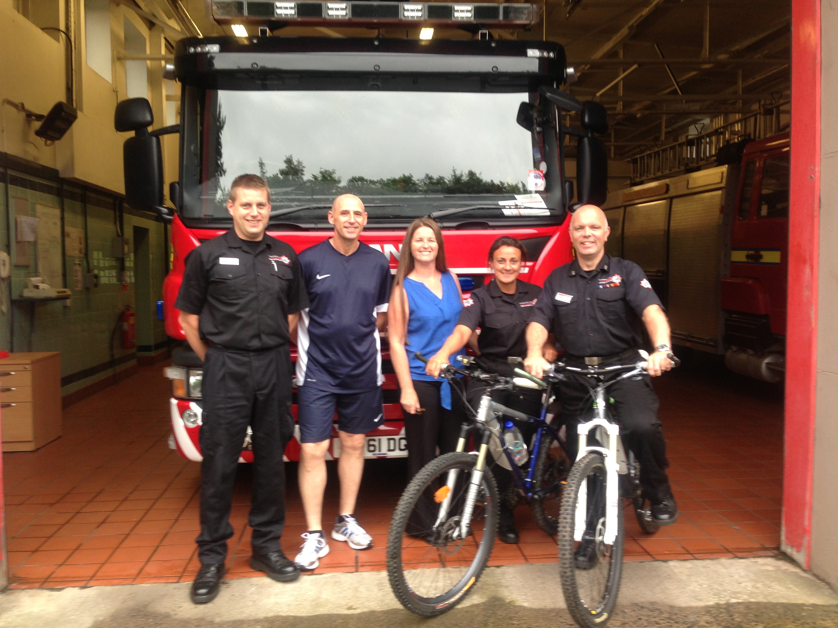 Canal festival to see firefighters' charity cycle