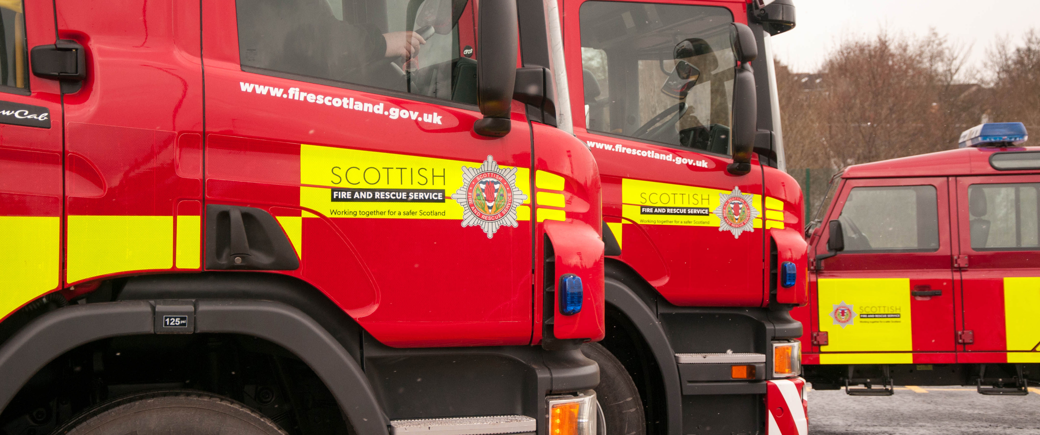Injured cyclist thanks off duty SFRS officer