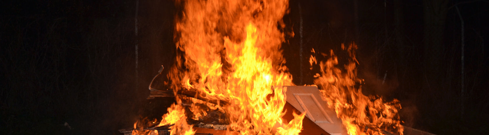 Bonfires can be dangerous check out our safety advice