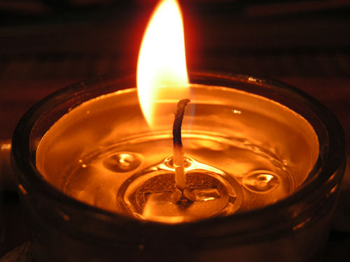 SFRS WARNS ABOUT DANGER OF LEAVING CANDLES UNATTENDED