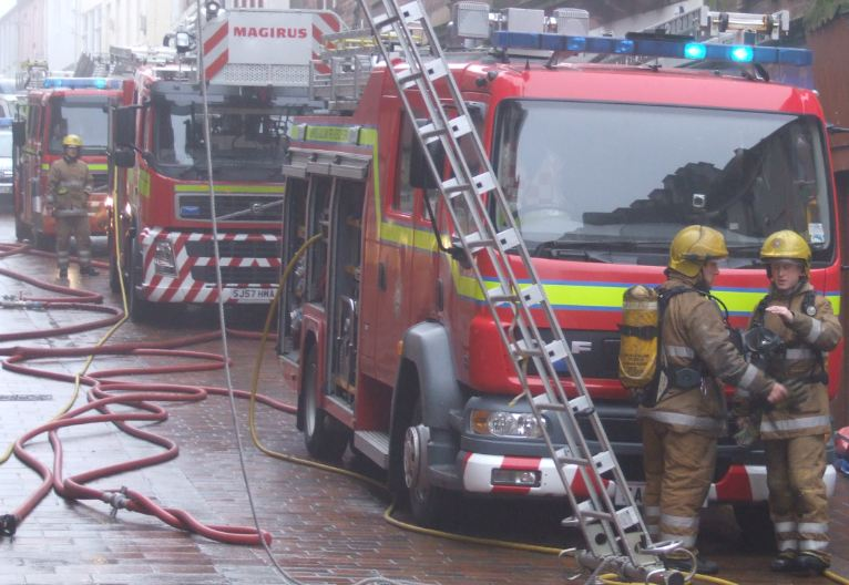 Busy afternoon for Stranraer crews
