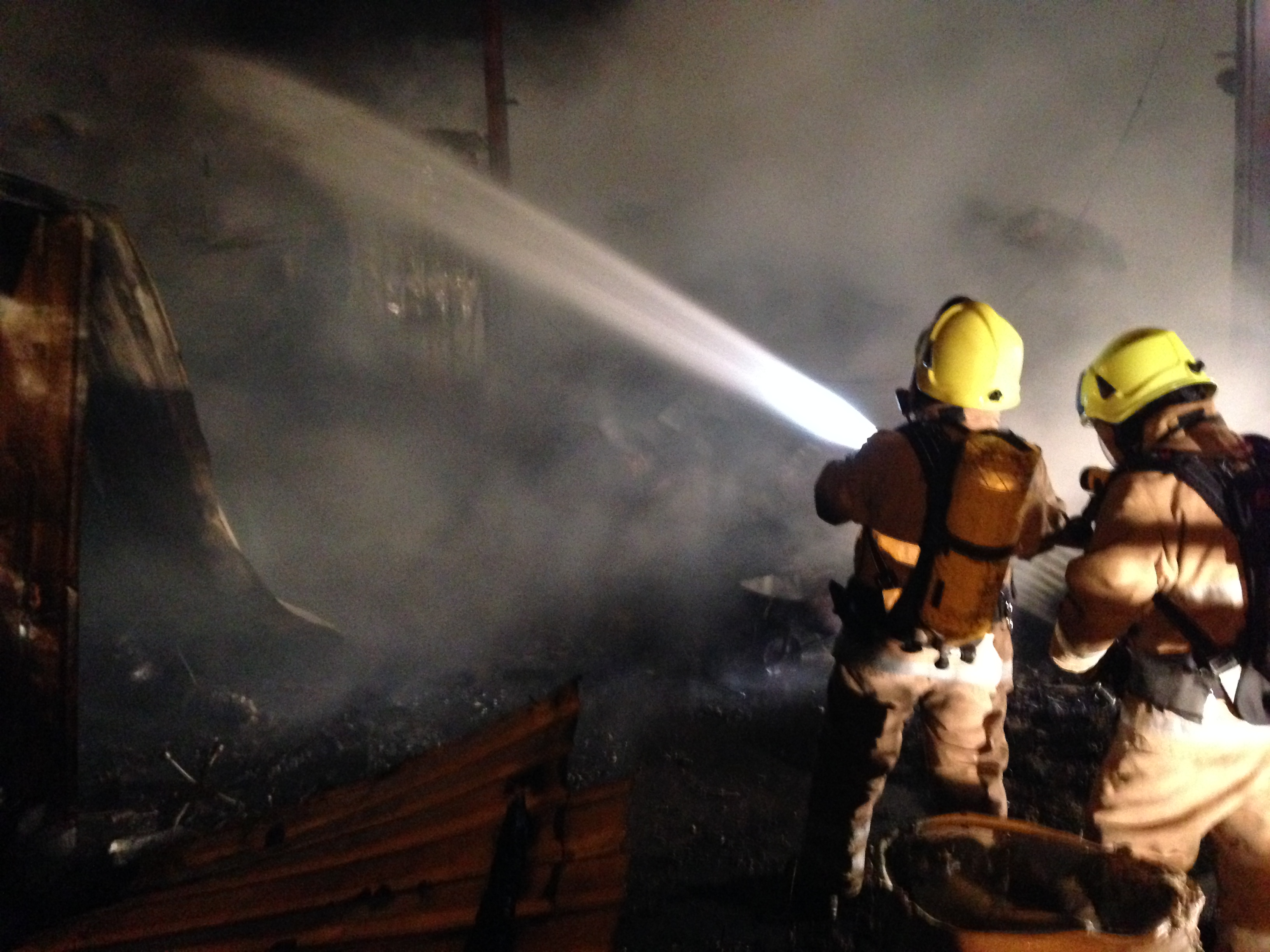 Shed fire at rural property in Muthill