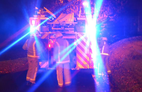 Man and Woman rescued from fire in South Ayrshire