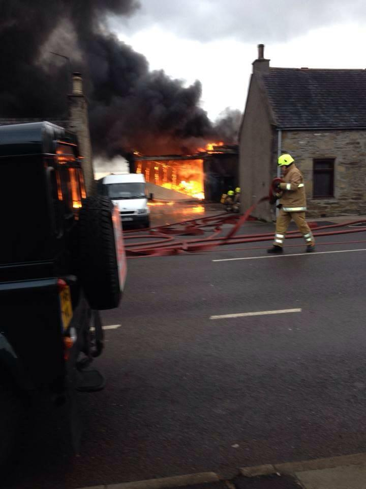 Keith garage fire has been extinguished by SFRS