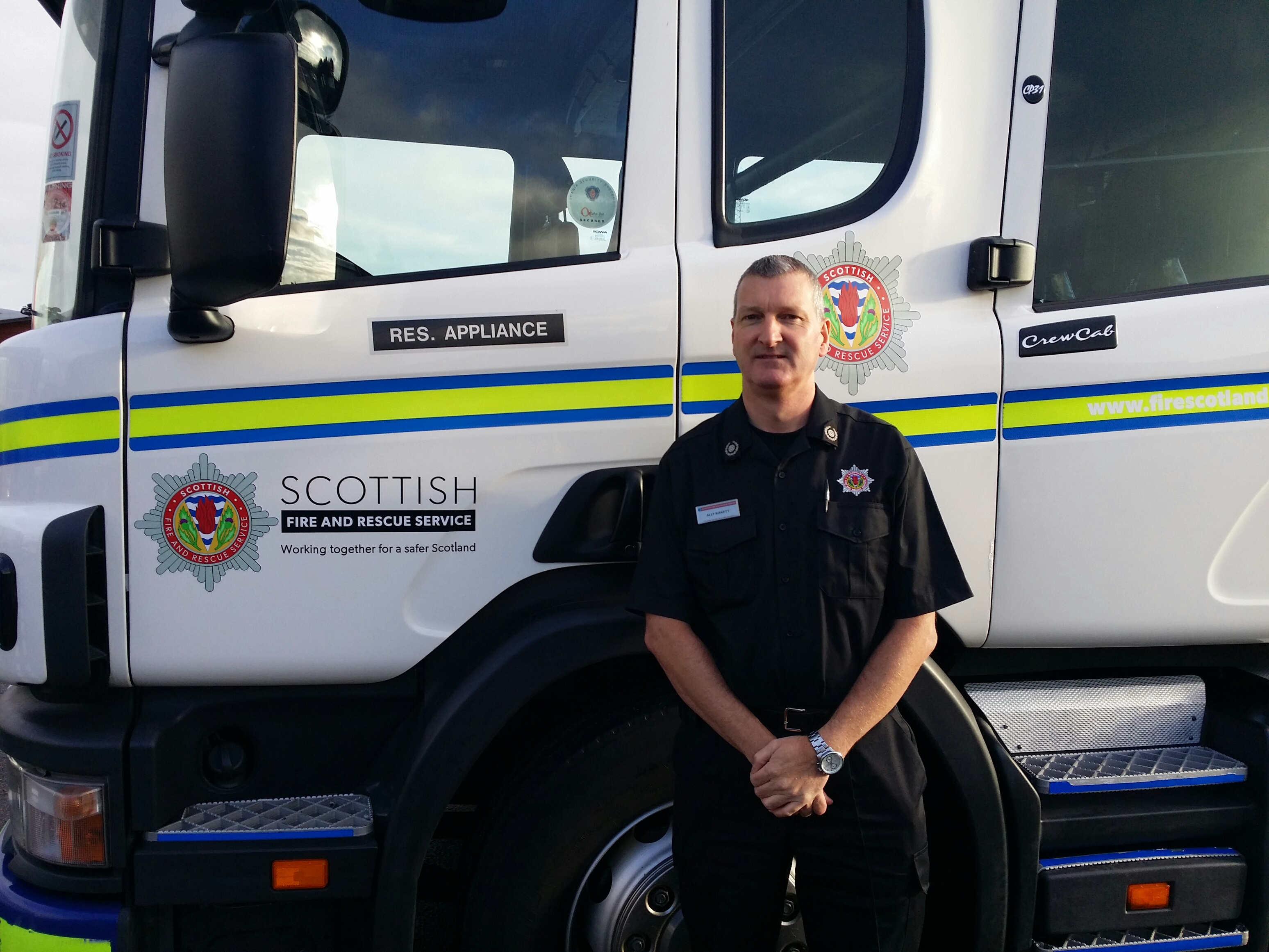 North firefighter nominated for prestigious Firefighters' Charity award
