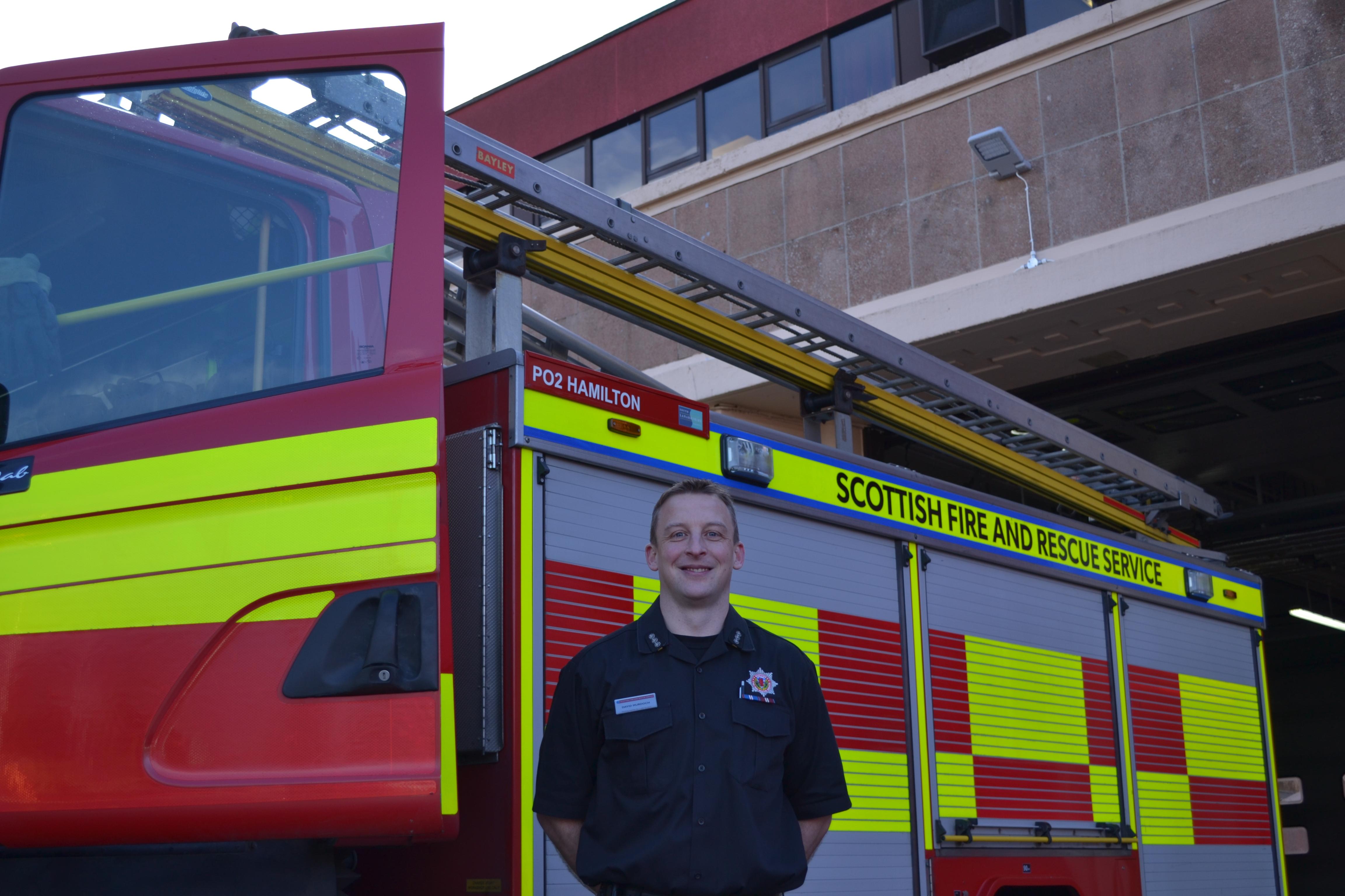 Lanark honour for SFRS officer