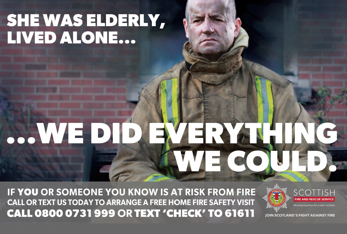 Protecting older people from fire