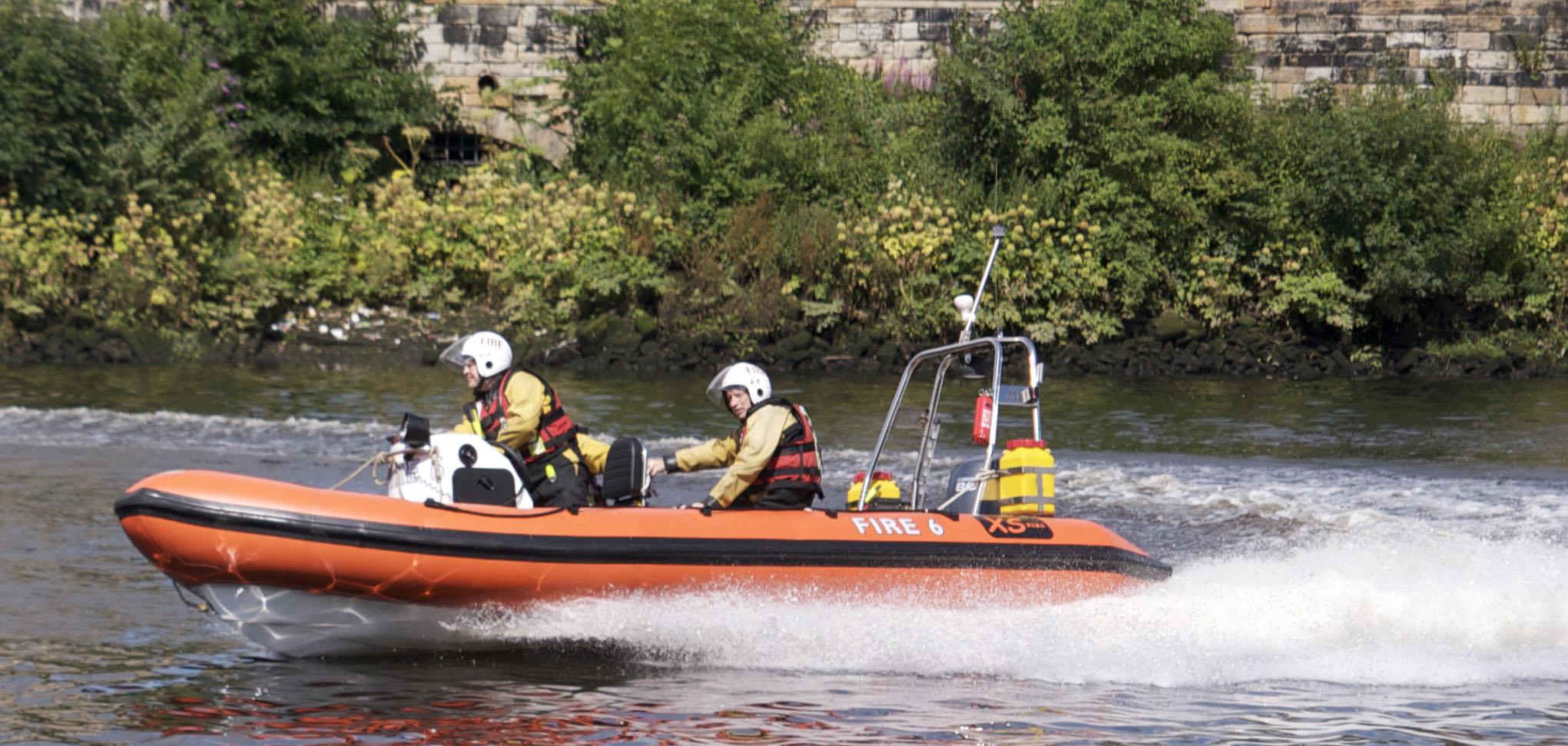 Water rescue in Argyll