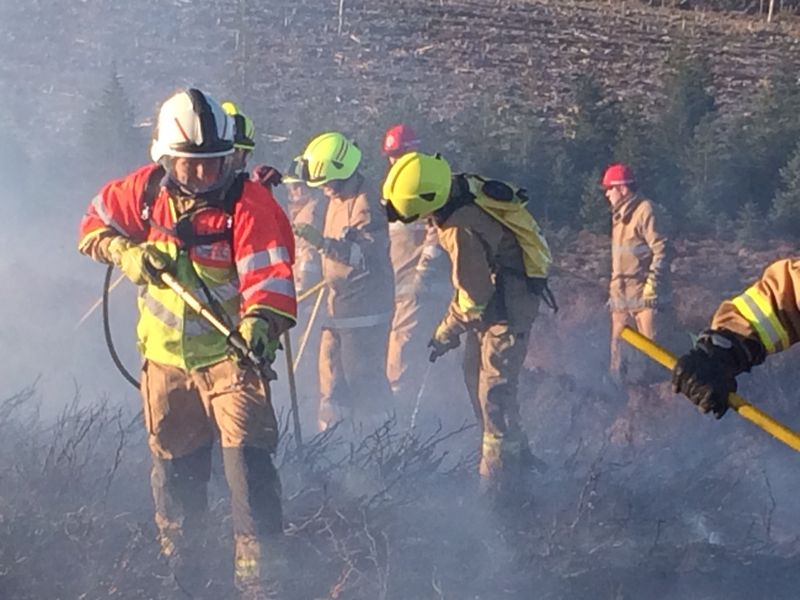 Wildfire project manager highlights message after 11 pump fire at Stonehaven