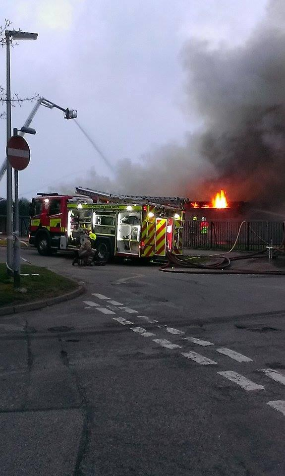 SFRS deal with major fire in Aberdeen