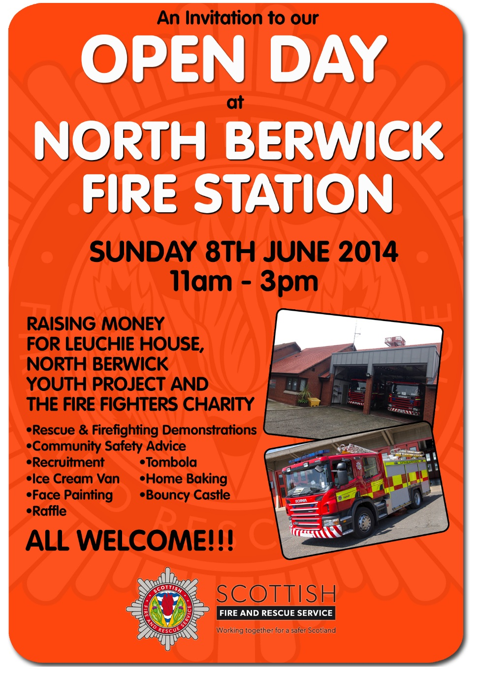 North Berwick fire station open day