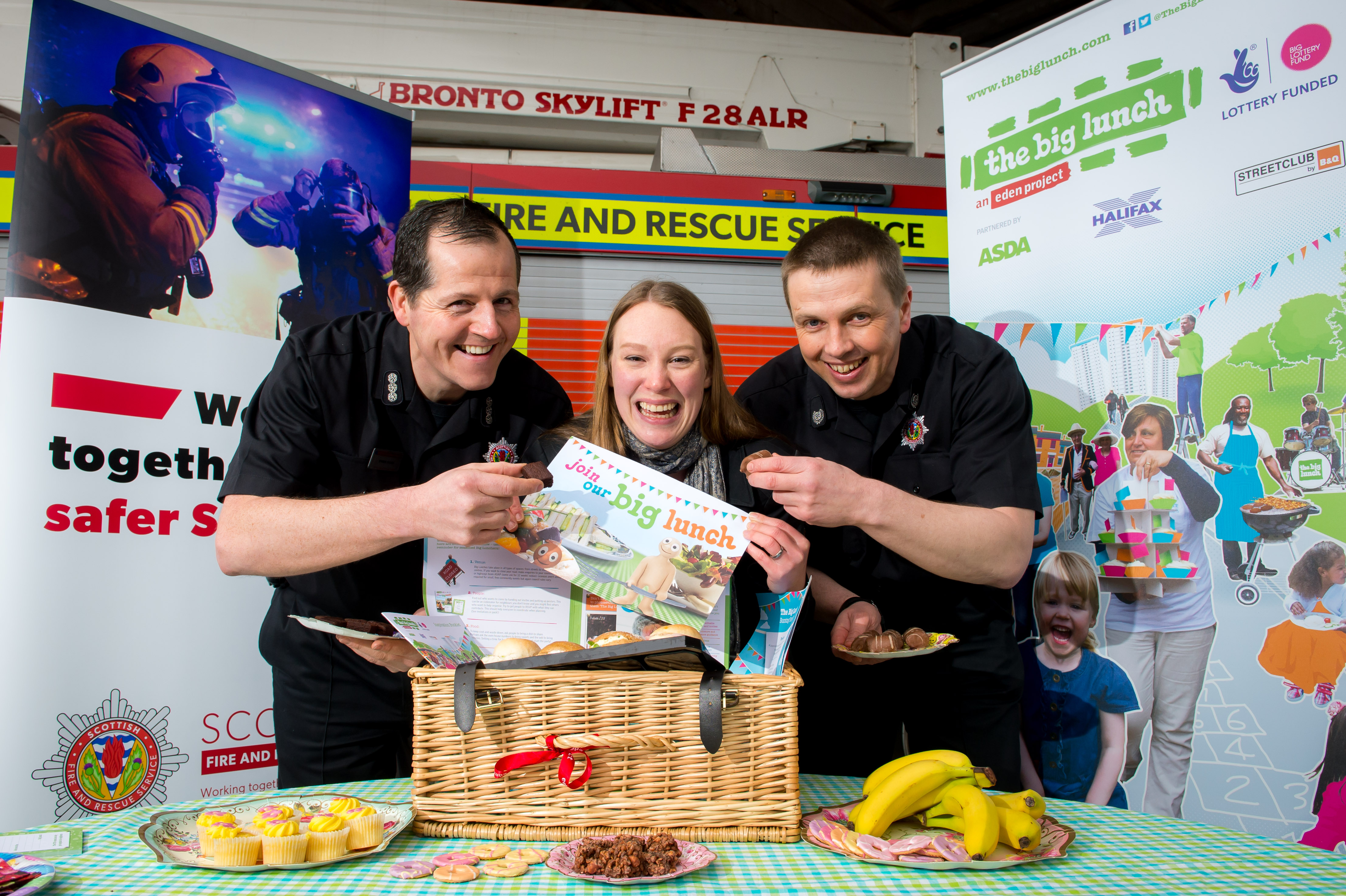 SFRS in partnership with The Big Lunch