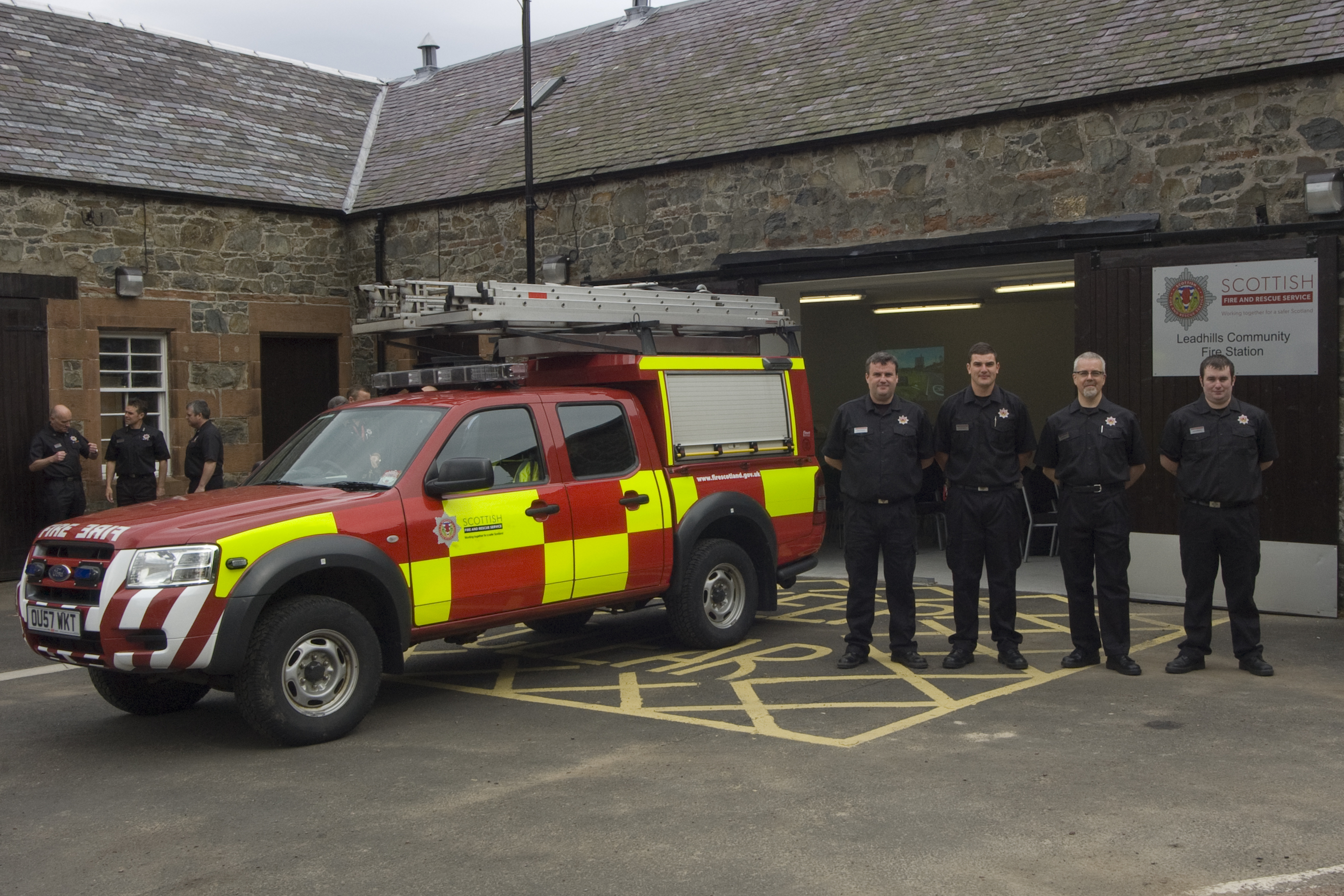 New station for Leadhills volunteer crew