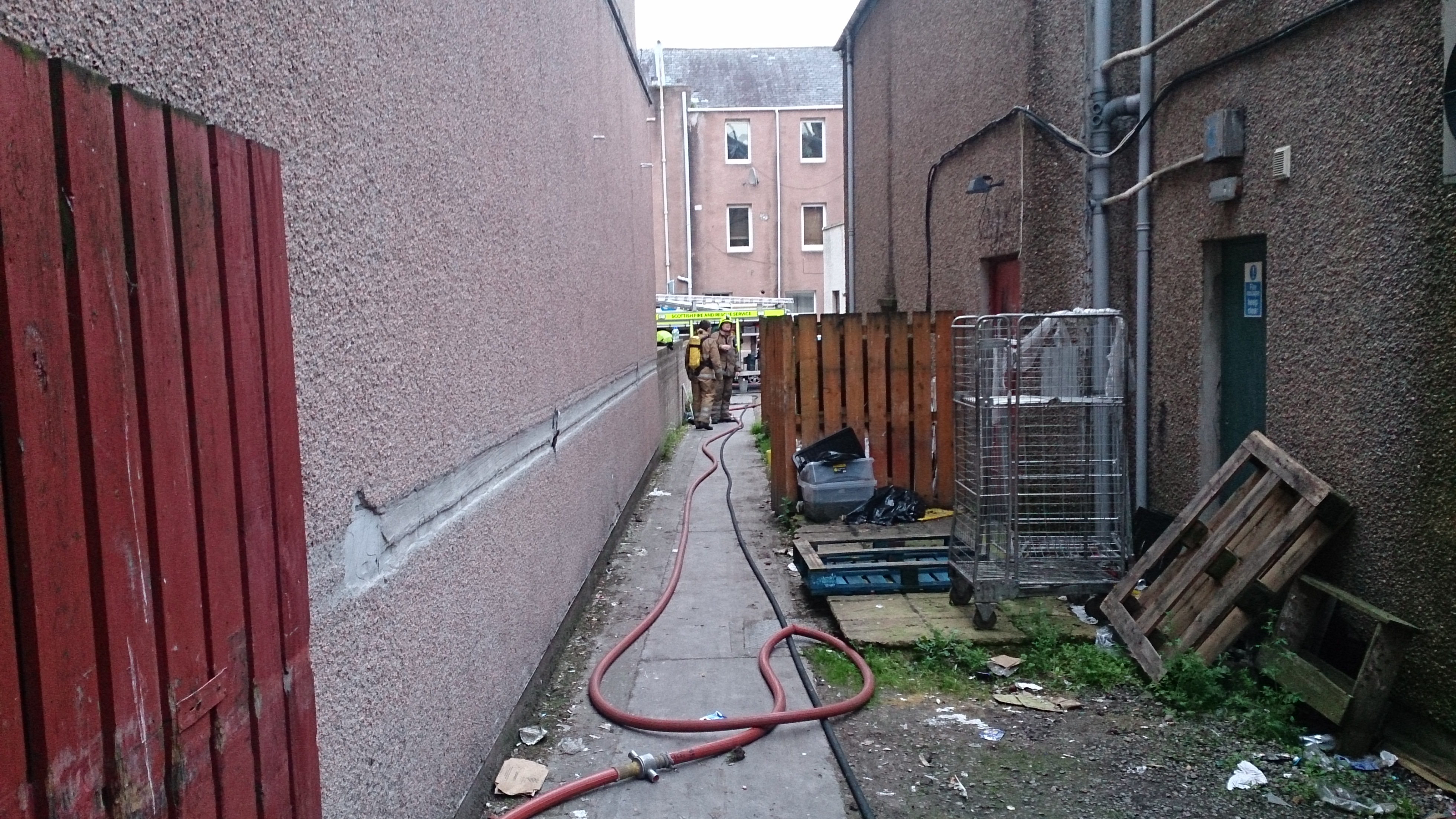Firefighters save Inverness building following fire