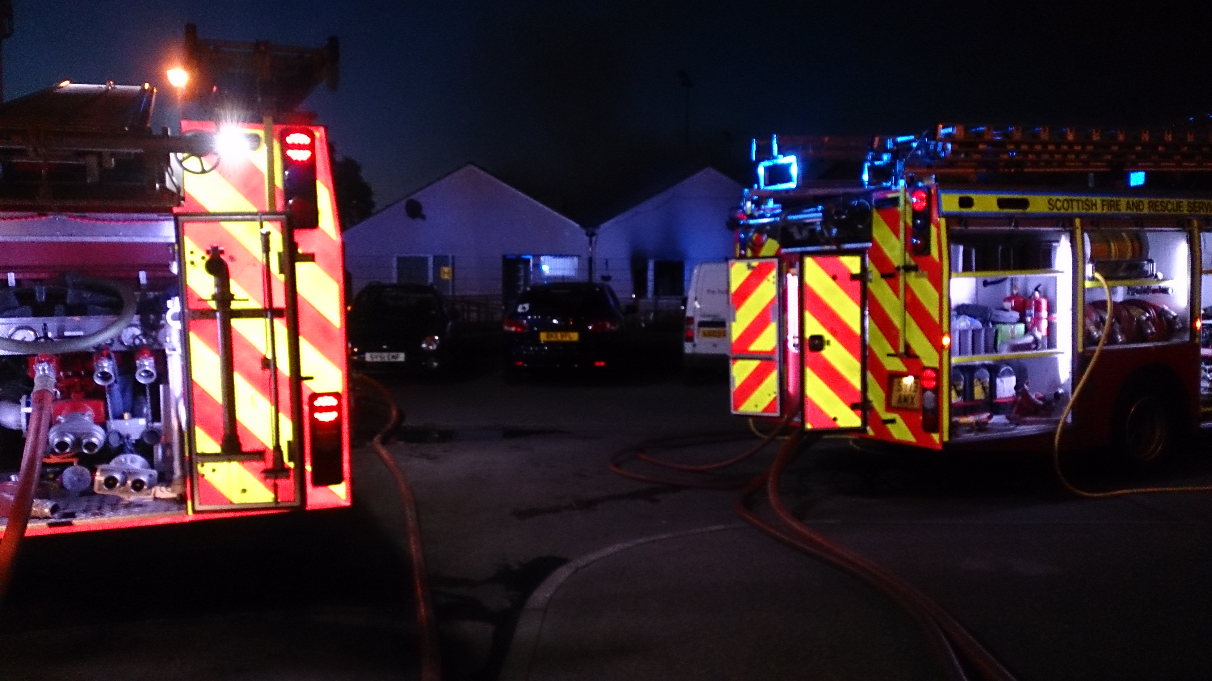 Firefighters rescued elderly woman from serious Inverness house fire
