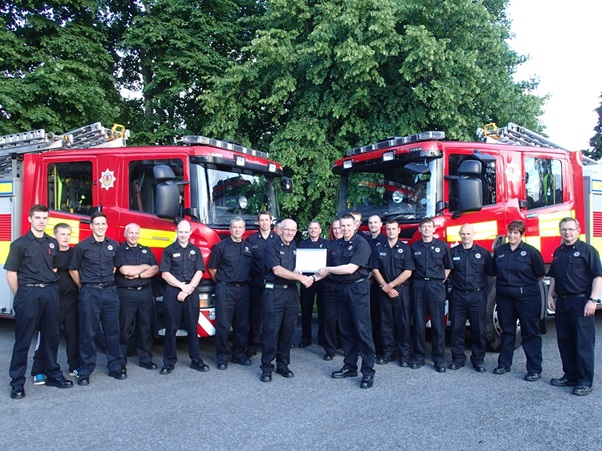 After 36 years in the retained service Ronnie Black hangs up his pager