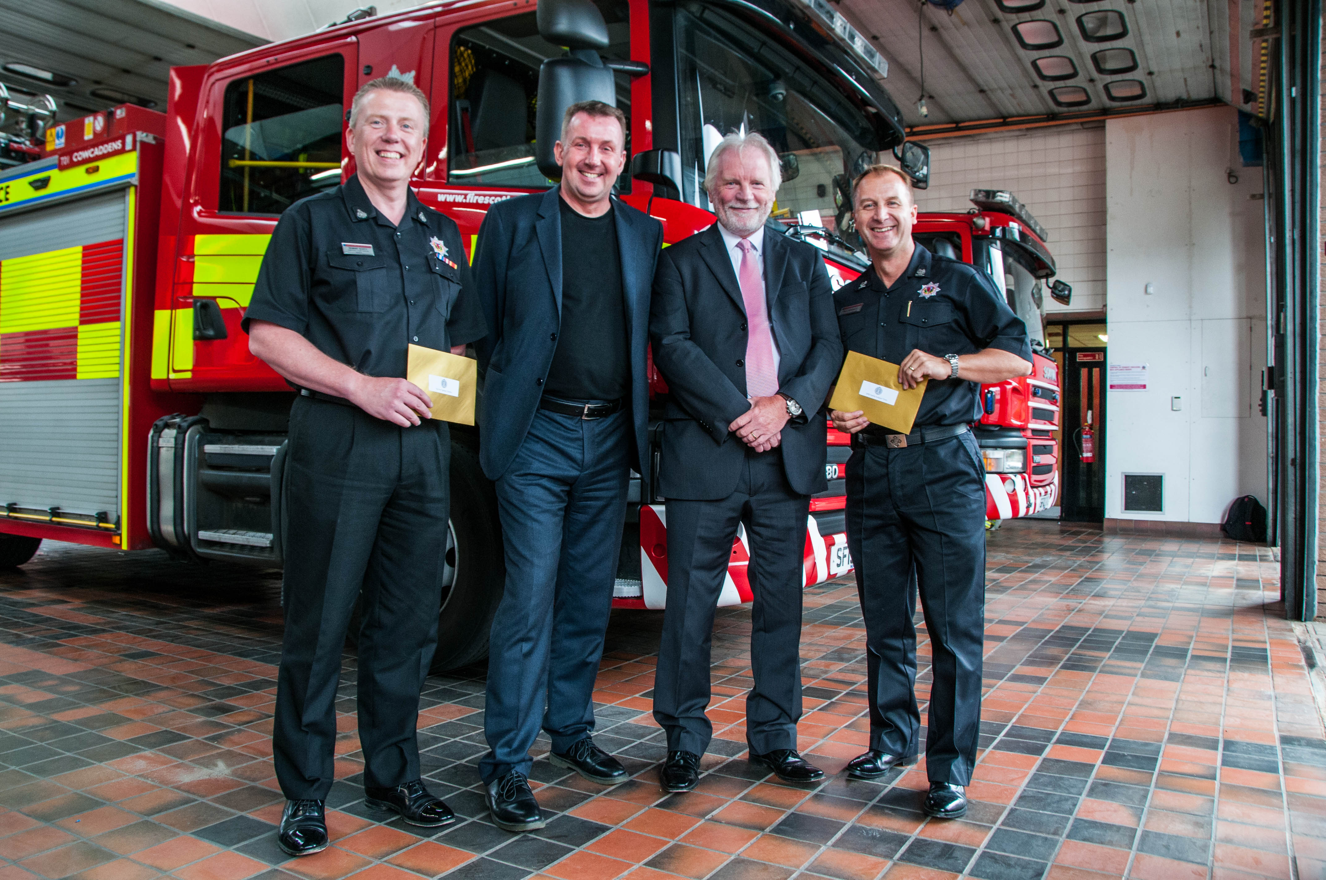 Architects donate to SFRS charities