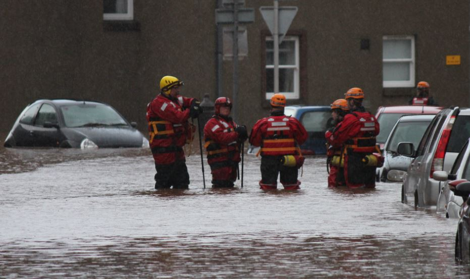 Crews and Controls busy during North floods
