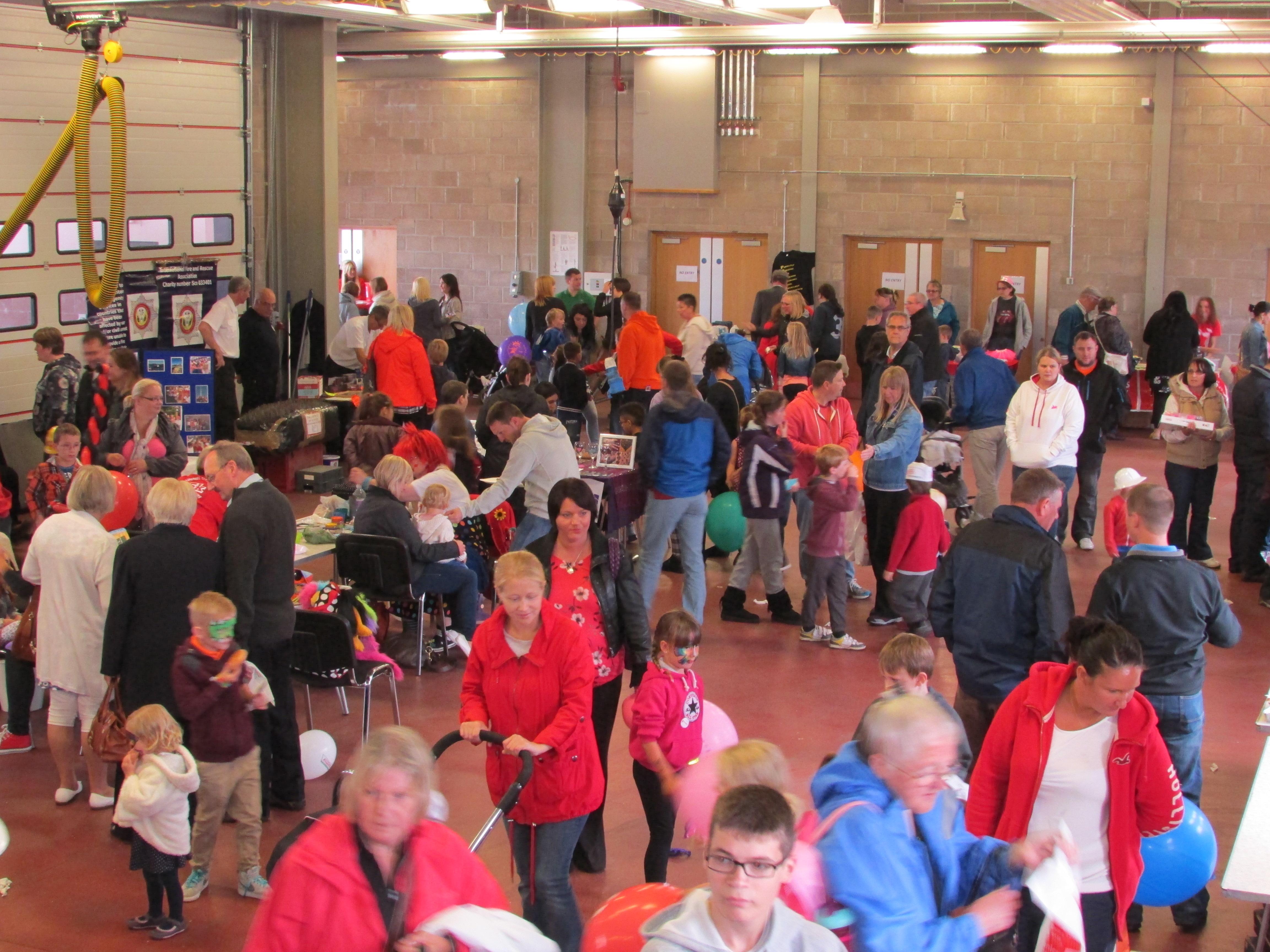 Dunfermline fire station open day success