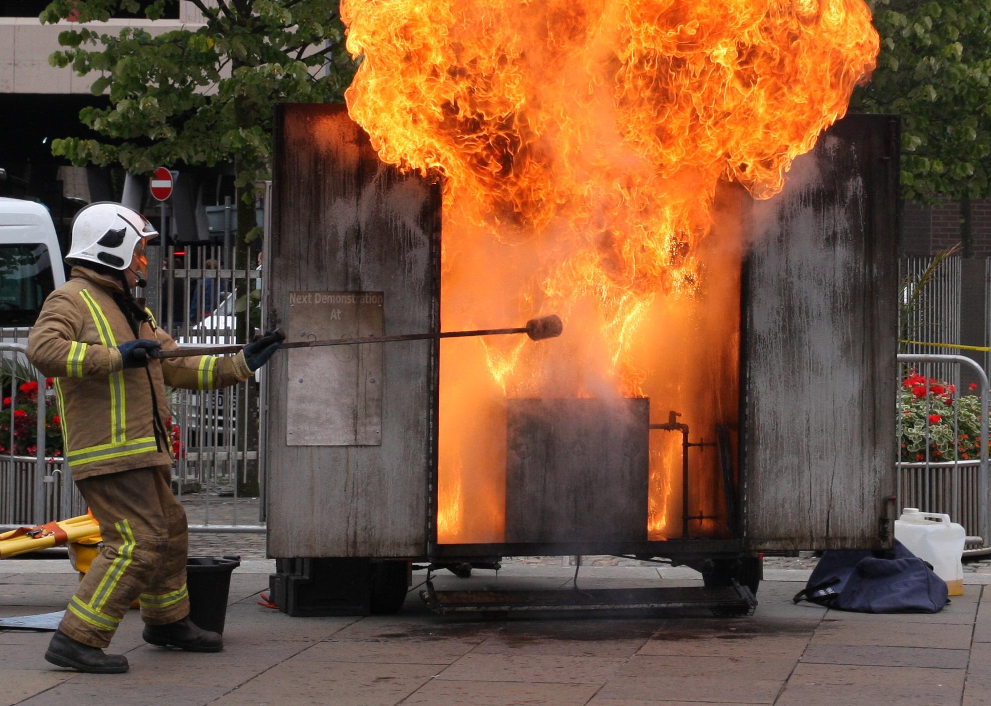 Man suffers smoke inhalation after chip pan fire in Edinburgh flat.