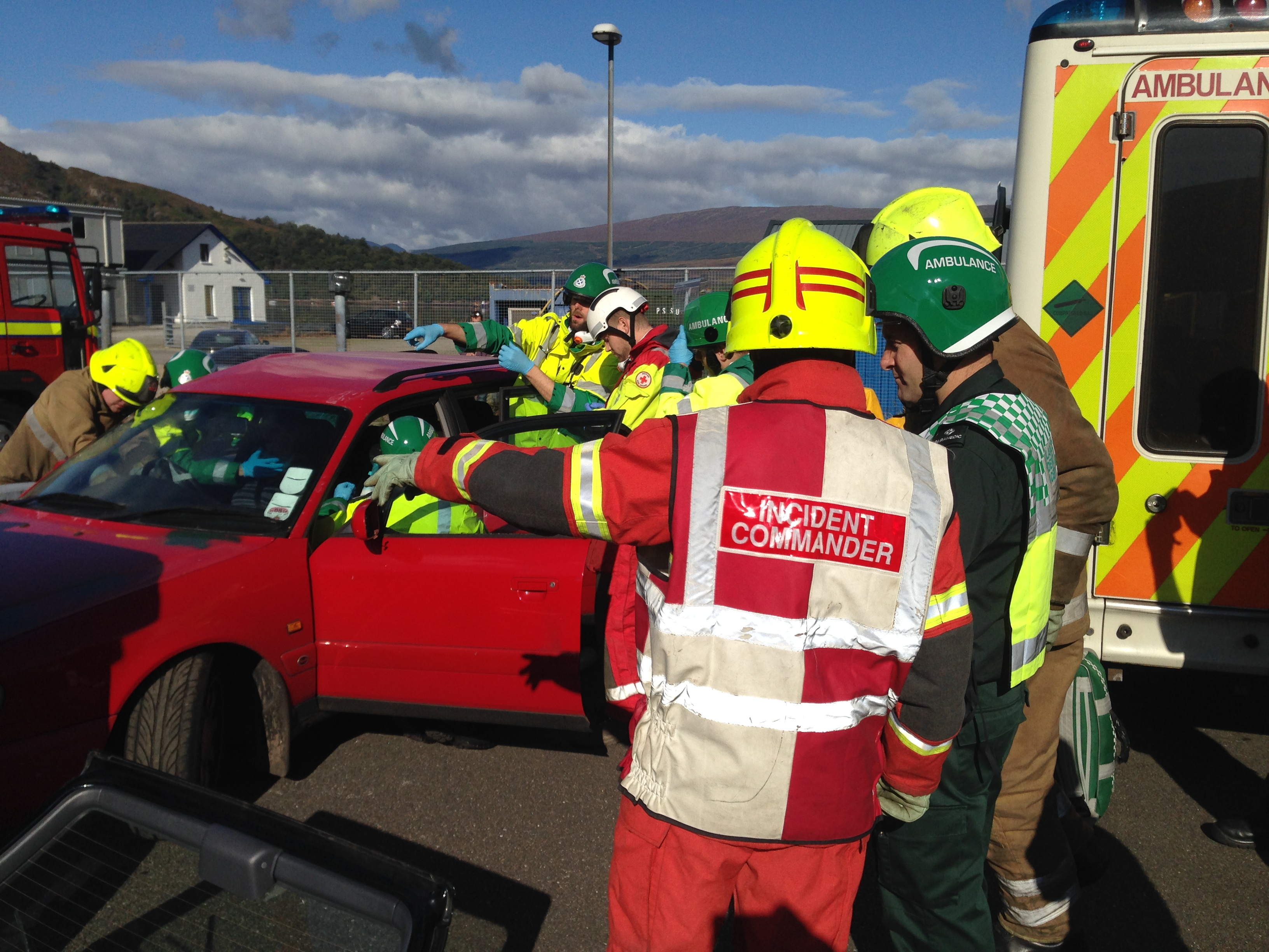 Multi-agency event in Lochaber a success