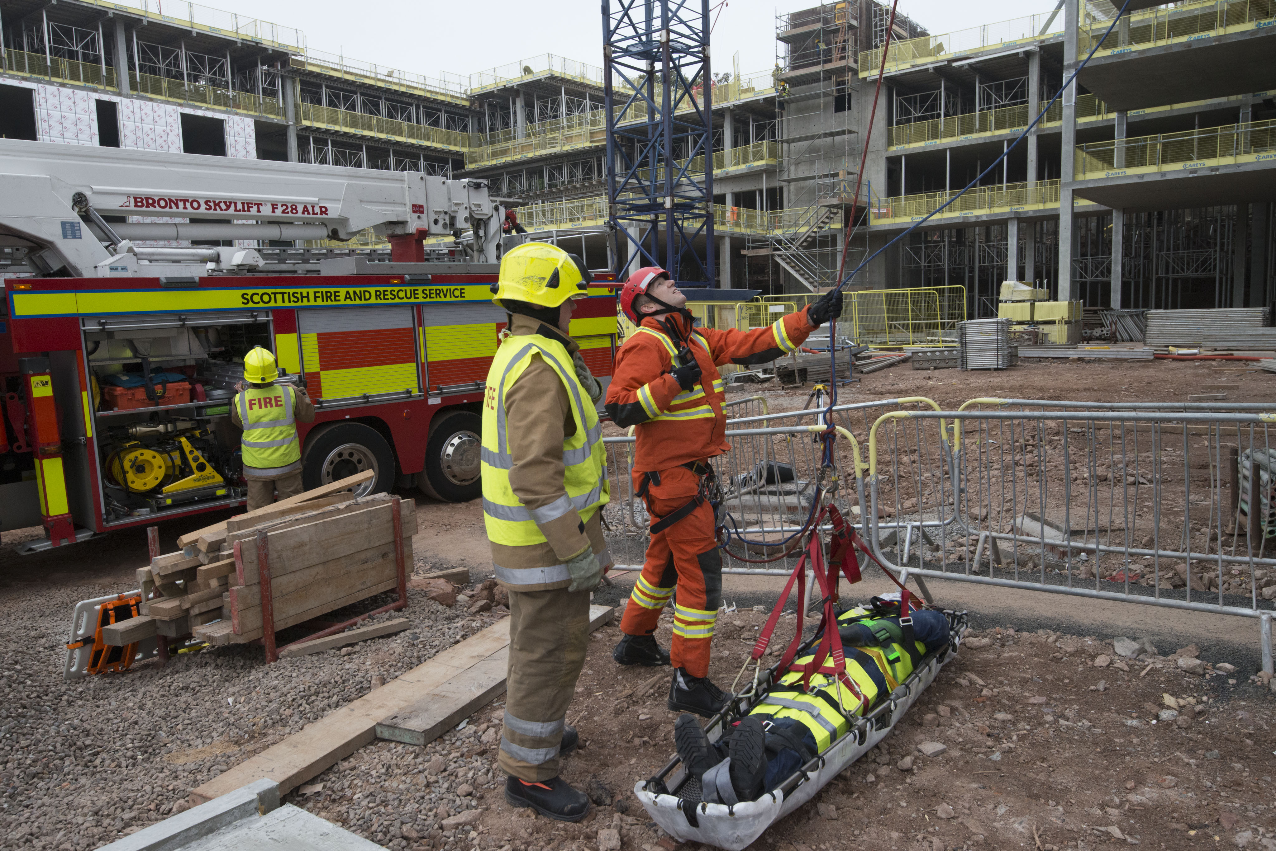 SFRS take training opportunity after Robertson construction offer