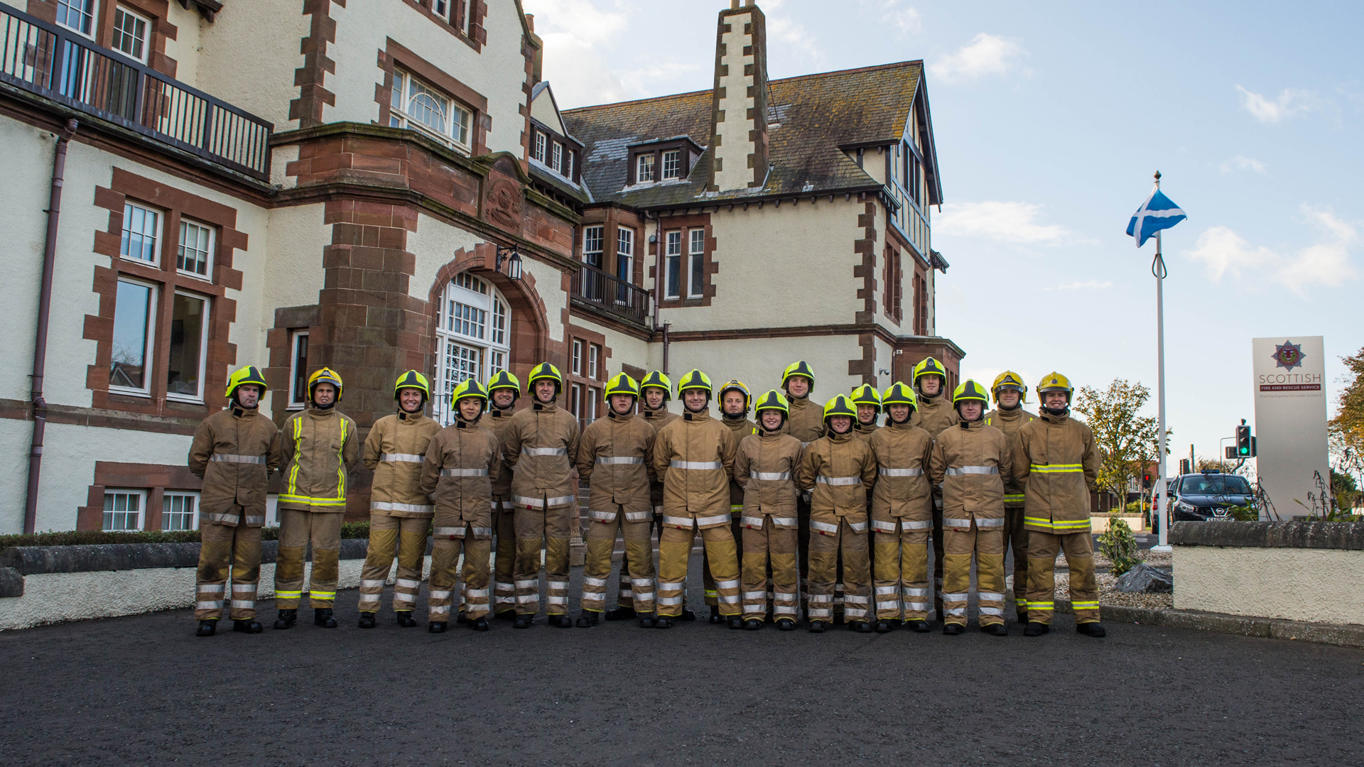SFRS looks to future as last recruits from service's Gullane college graduate
