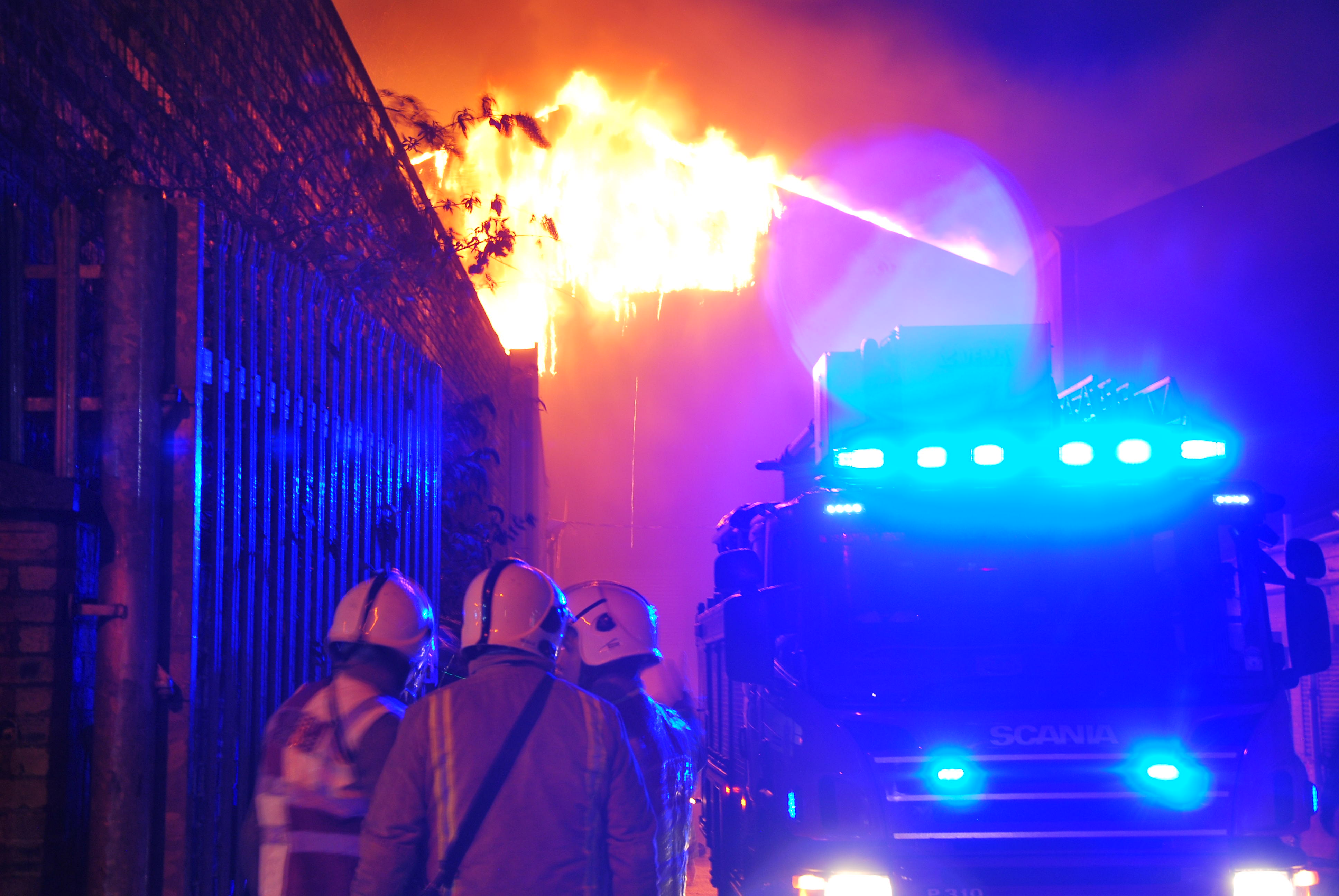 UPDATE: Large fire in Glasgow's Southside (1)