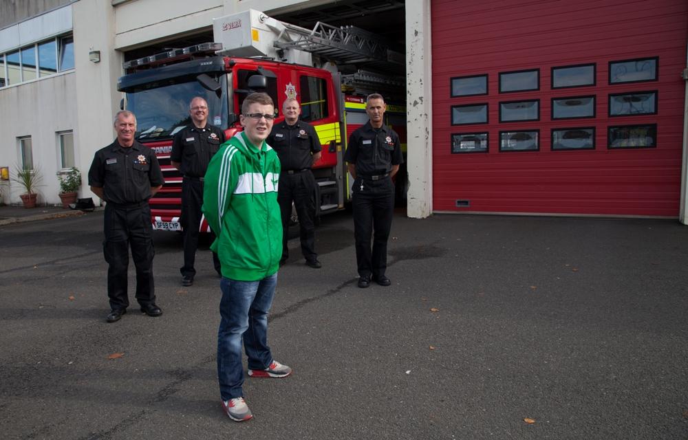Burned West Dunbartonshire teenager warns of Bonfire danger