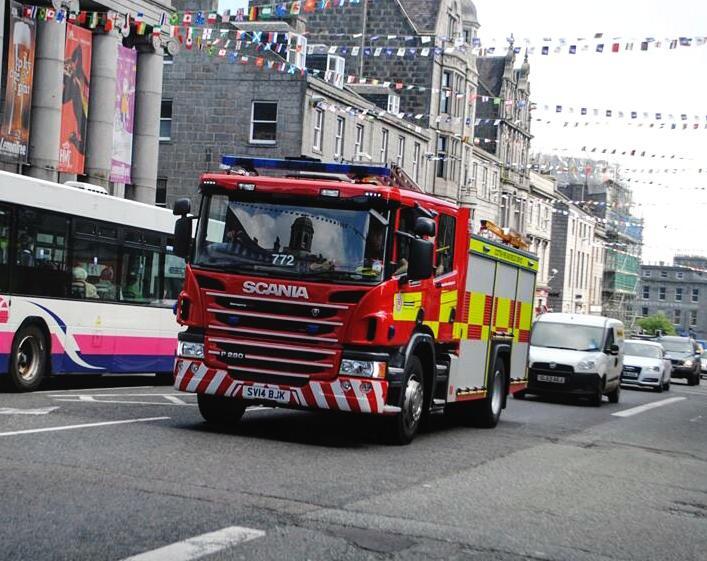 SFRS attend house fire in Cults, Aberdeen