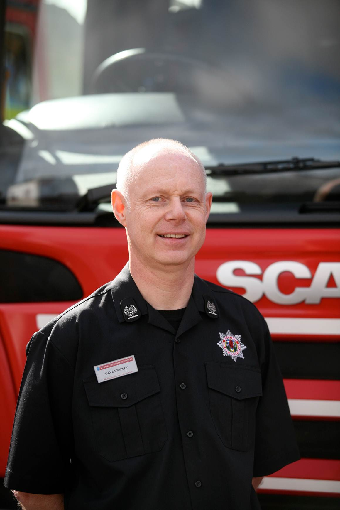 Dundee's most senior fire officer delivers positive final scrutiny committee report