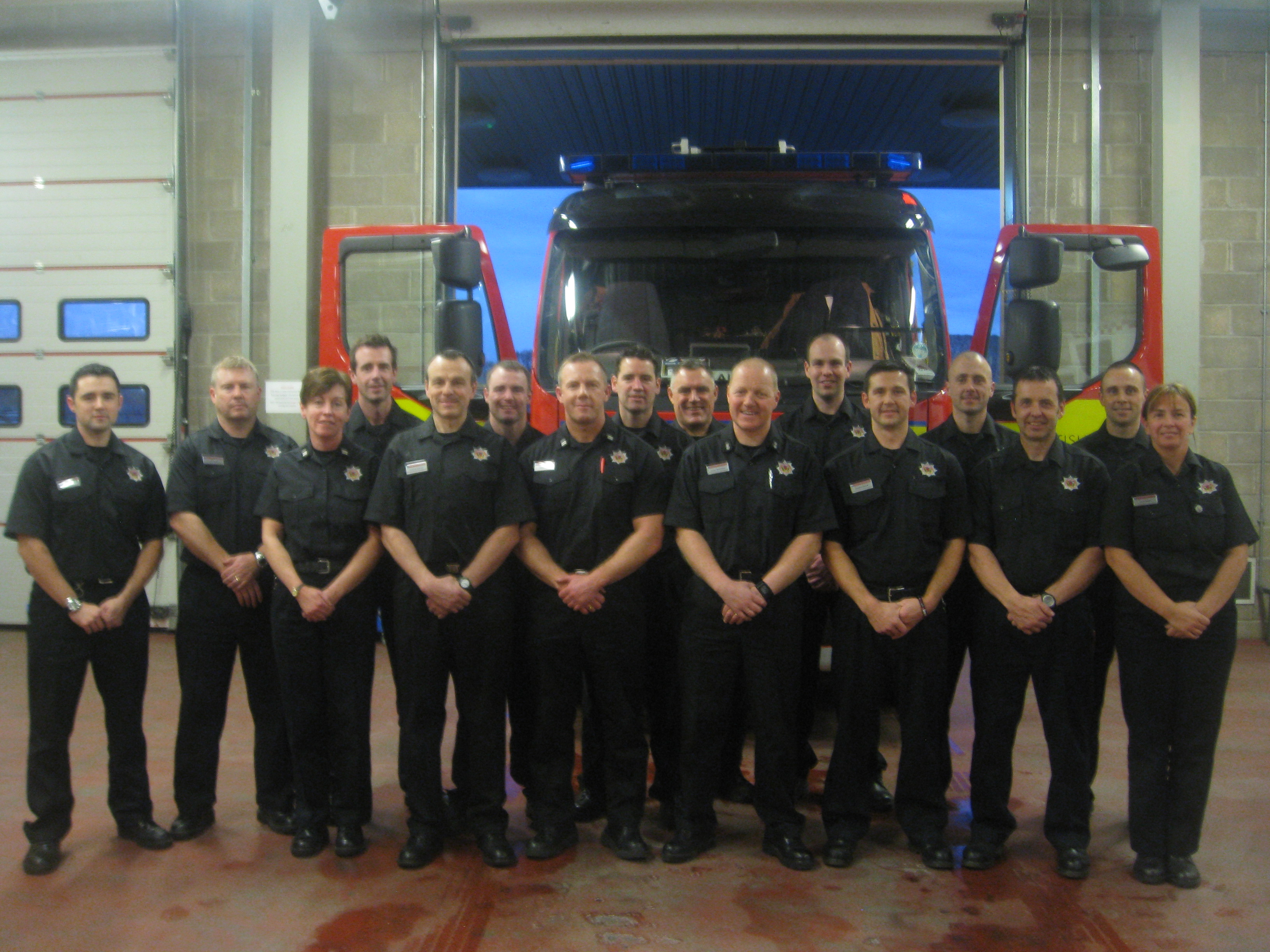 Dunfermline watch manager retires after 30 years
