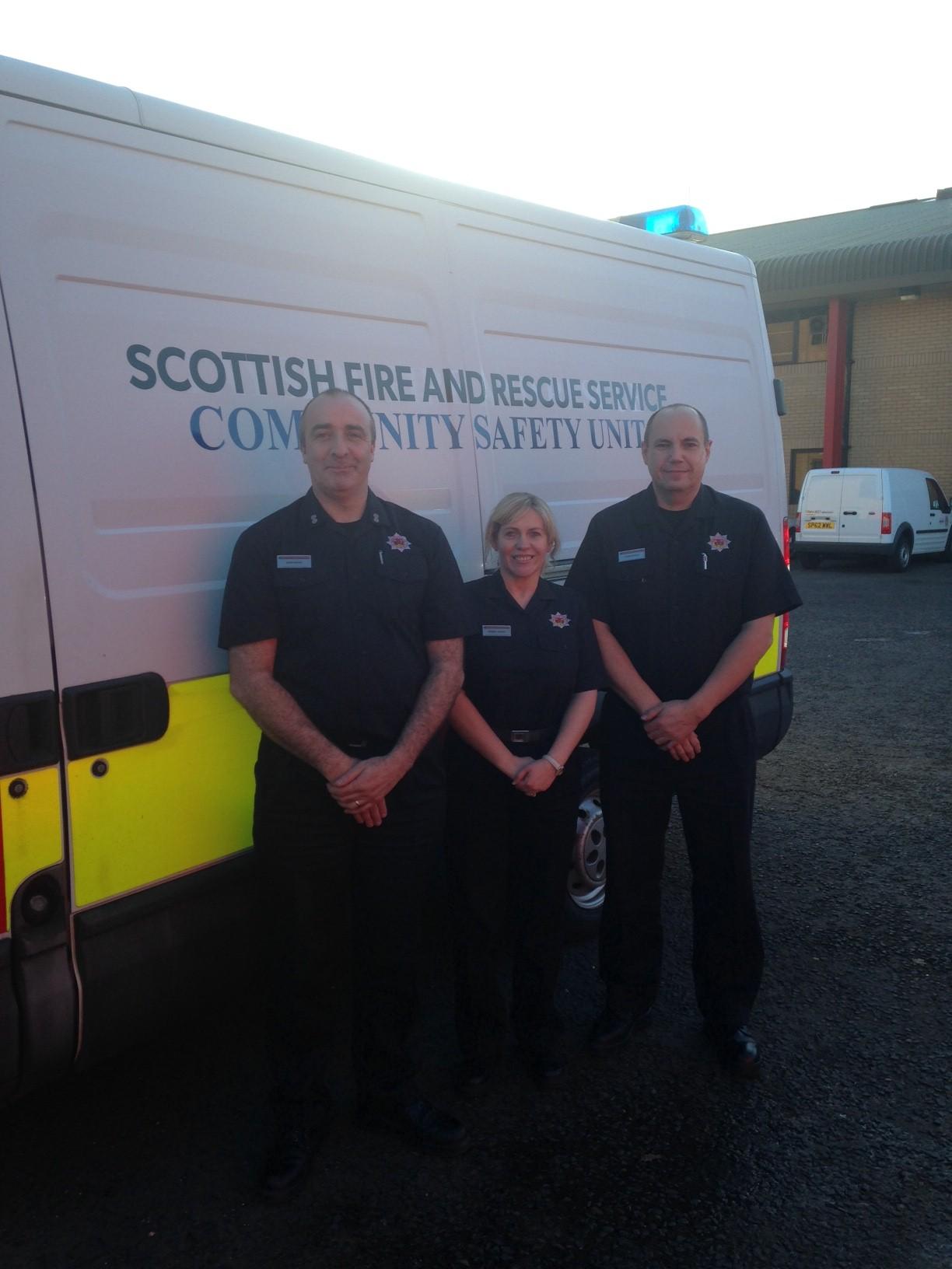SFRS shortlised for Community Spirit Awards in Dundee