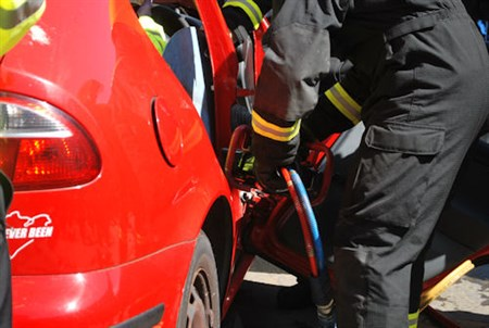 Five car collision in Edinburgh