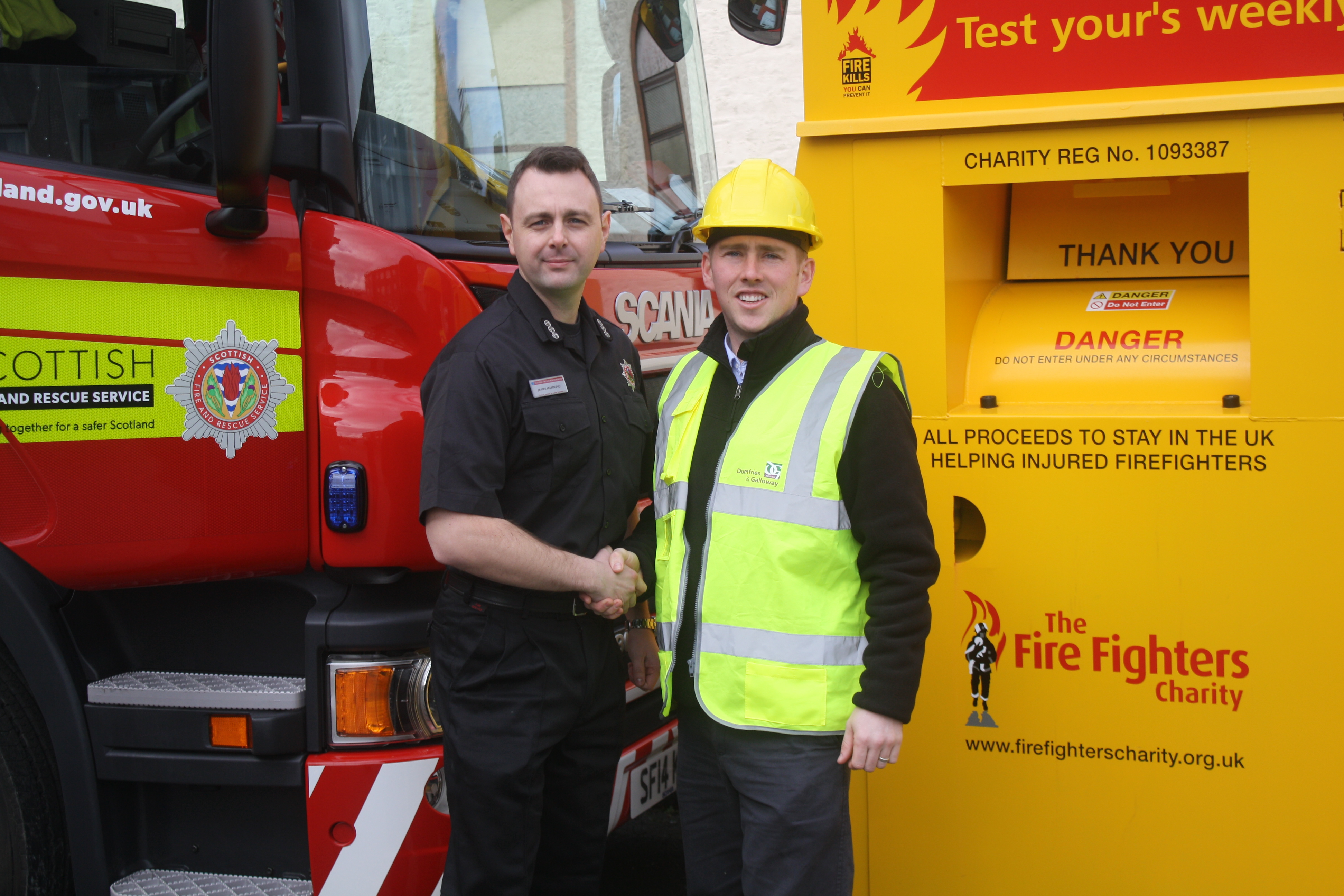 Stranraer leads the way in recycling