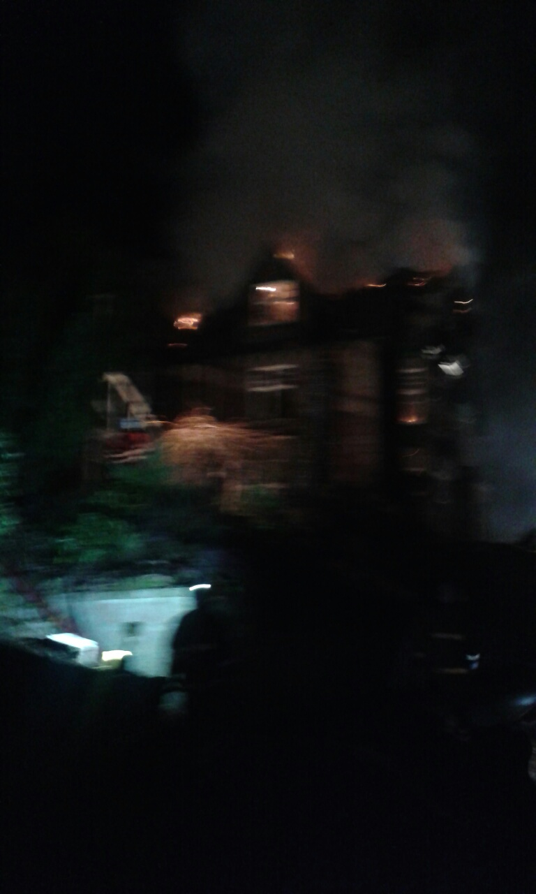 SFRS in attendance at large fire at hotel in Ballater, Aberdeenshire