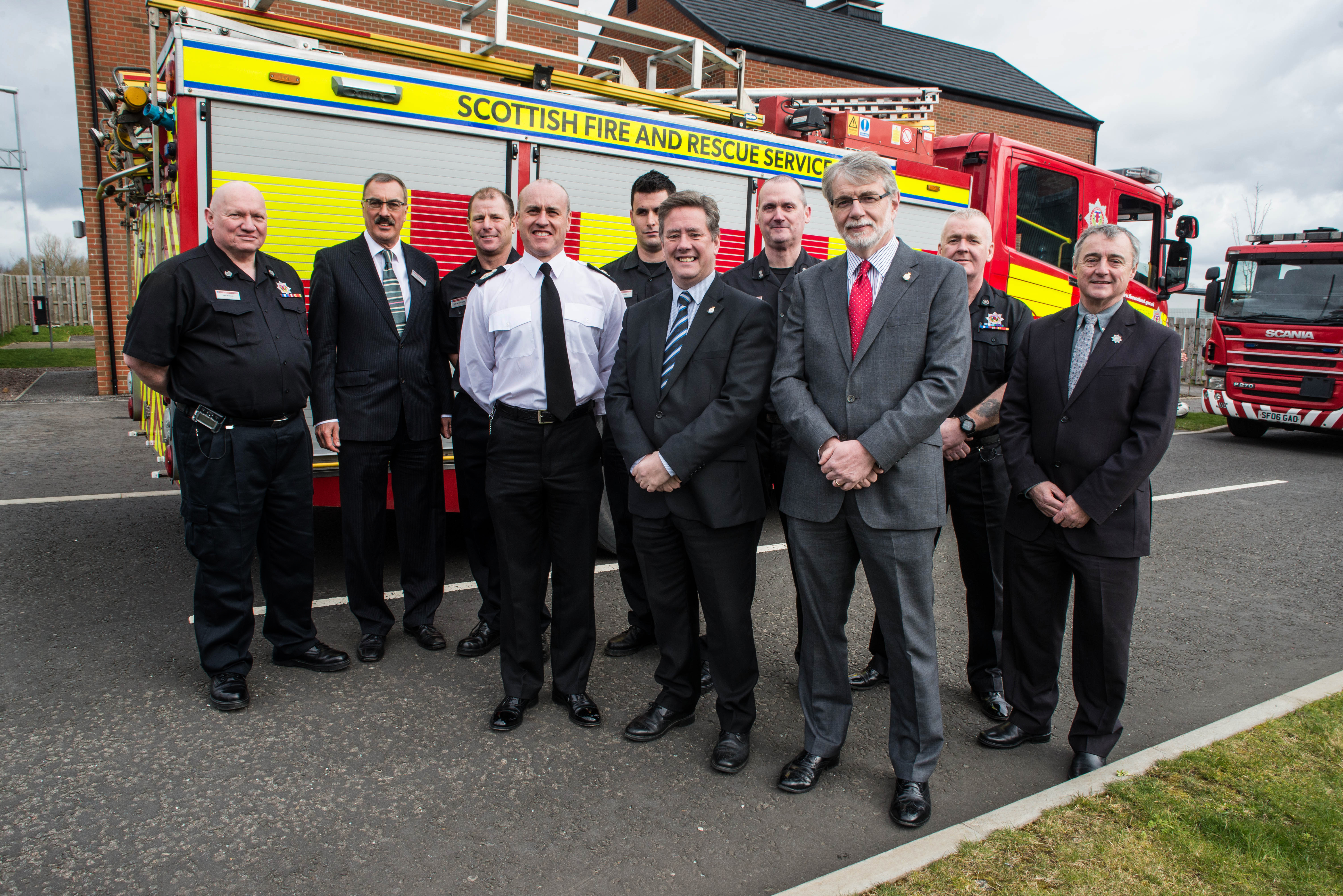 SFRS welcomes Scottish Veterans Commissioner
