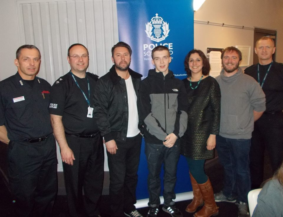 Film produced to deter local youths from car crime
