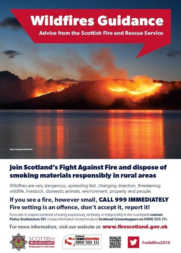 Fire service issues public warning following spate of wildfires in north-east